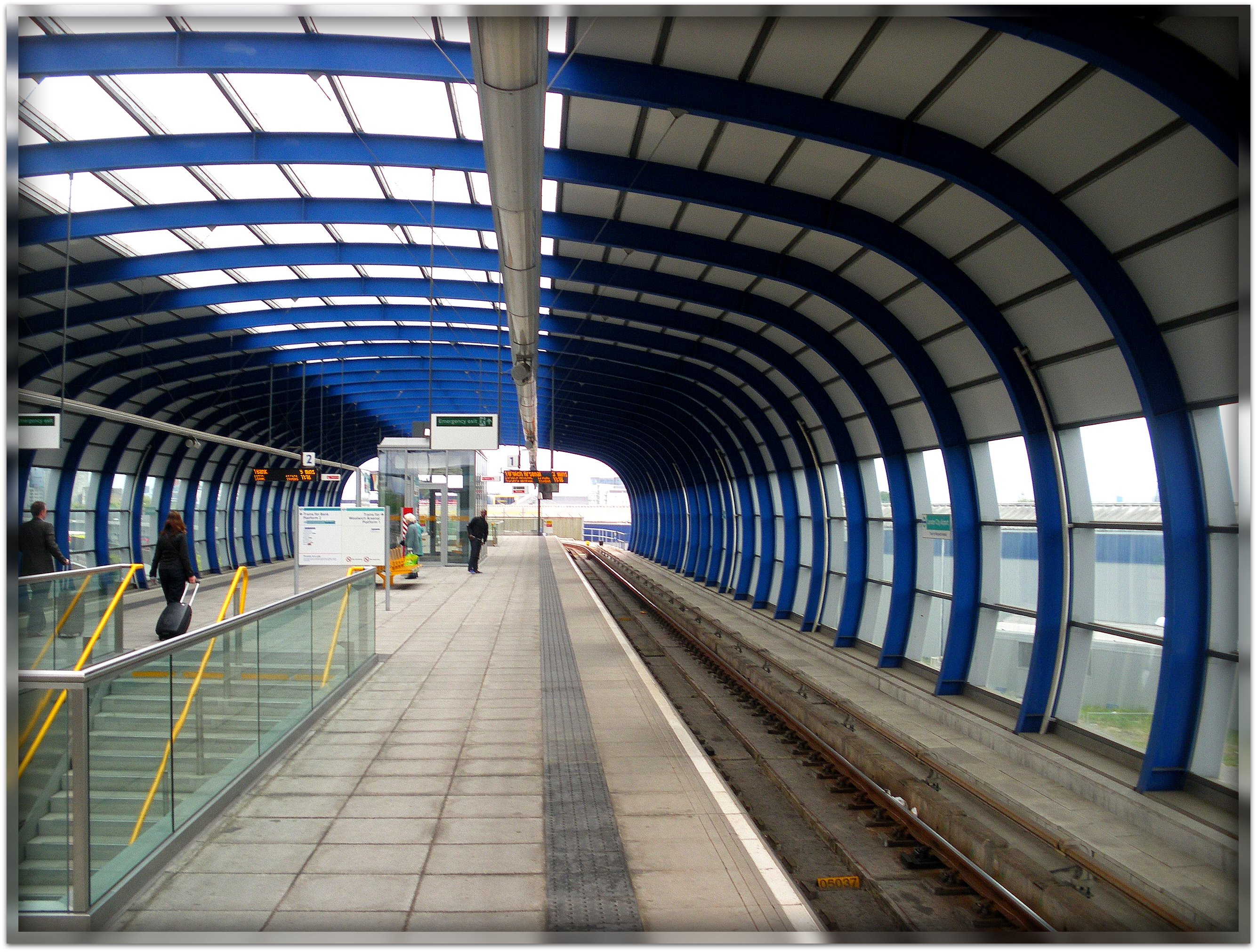 Dlr station photo