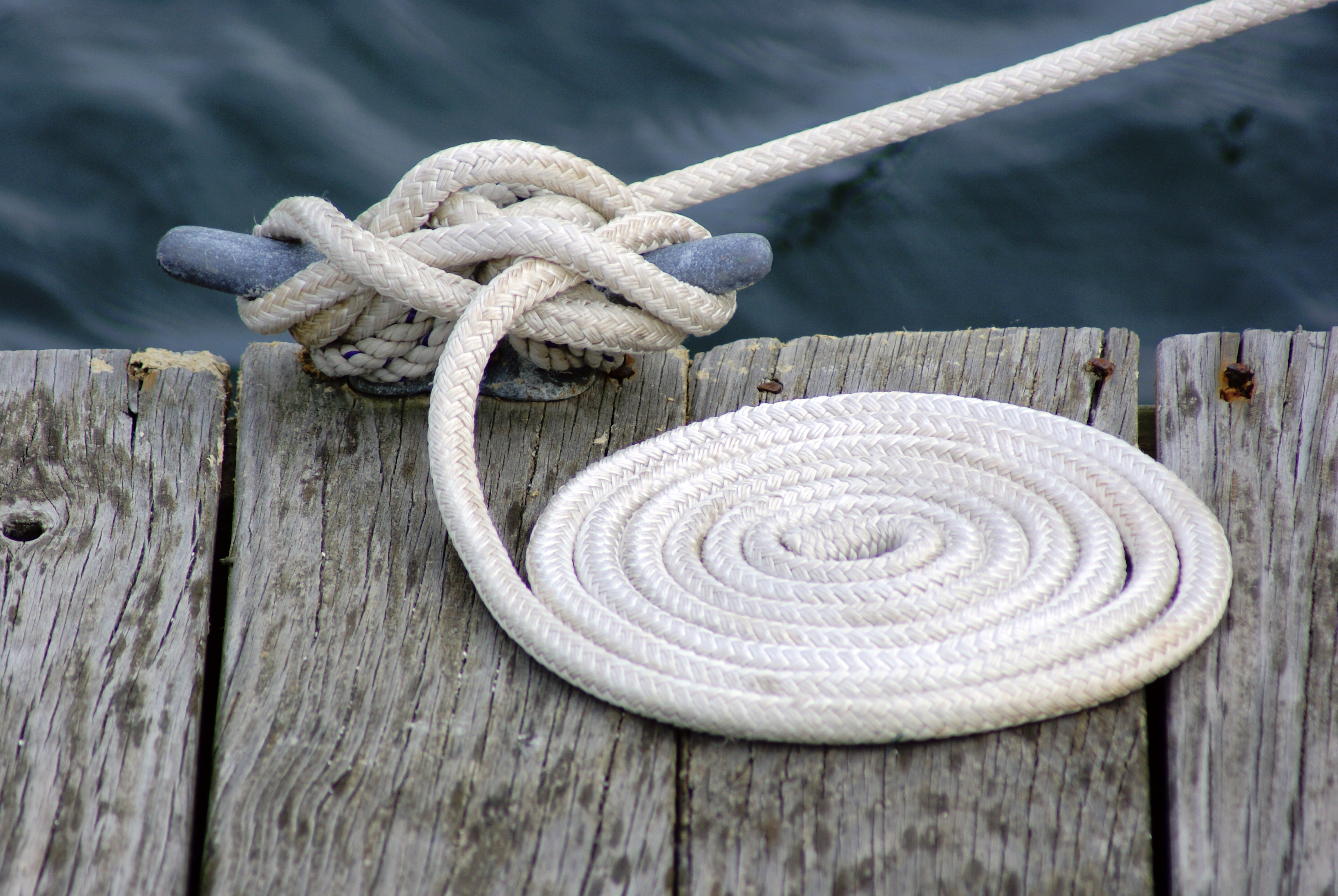 Dock Rope, Anchor, Spiral, Recreation, Rope, HQ Photo
