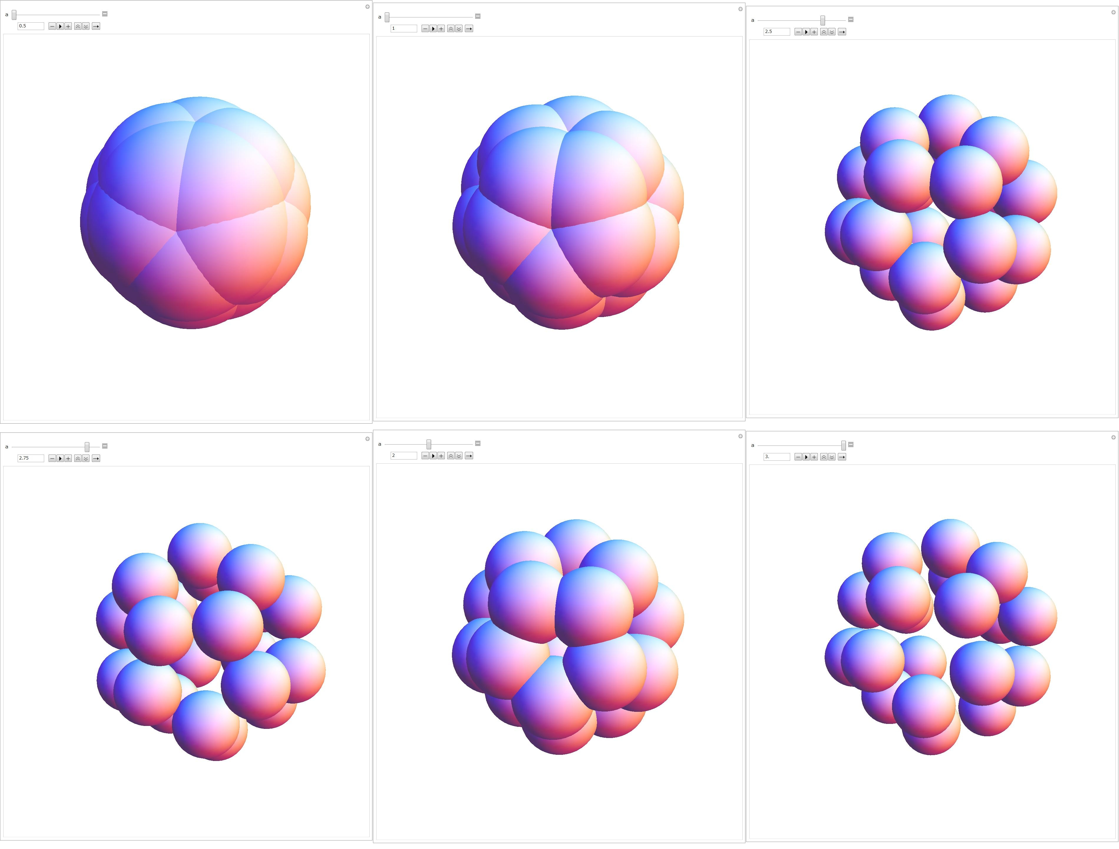 Dodecahedron of spheres photo