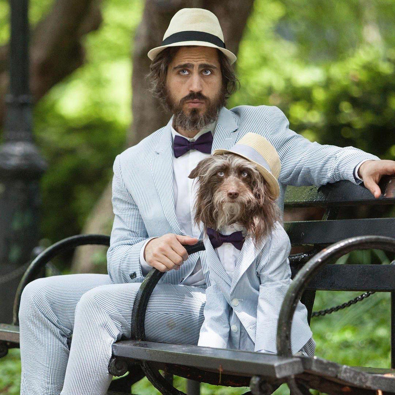 Man Dresses Like Dog on Instagram | Topher Brophy | POPSUGAR Pets