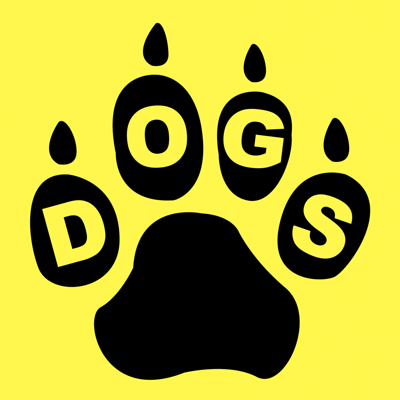 Dogs paw means doggie pedigree and puppy photo