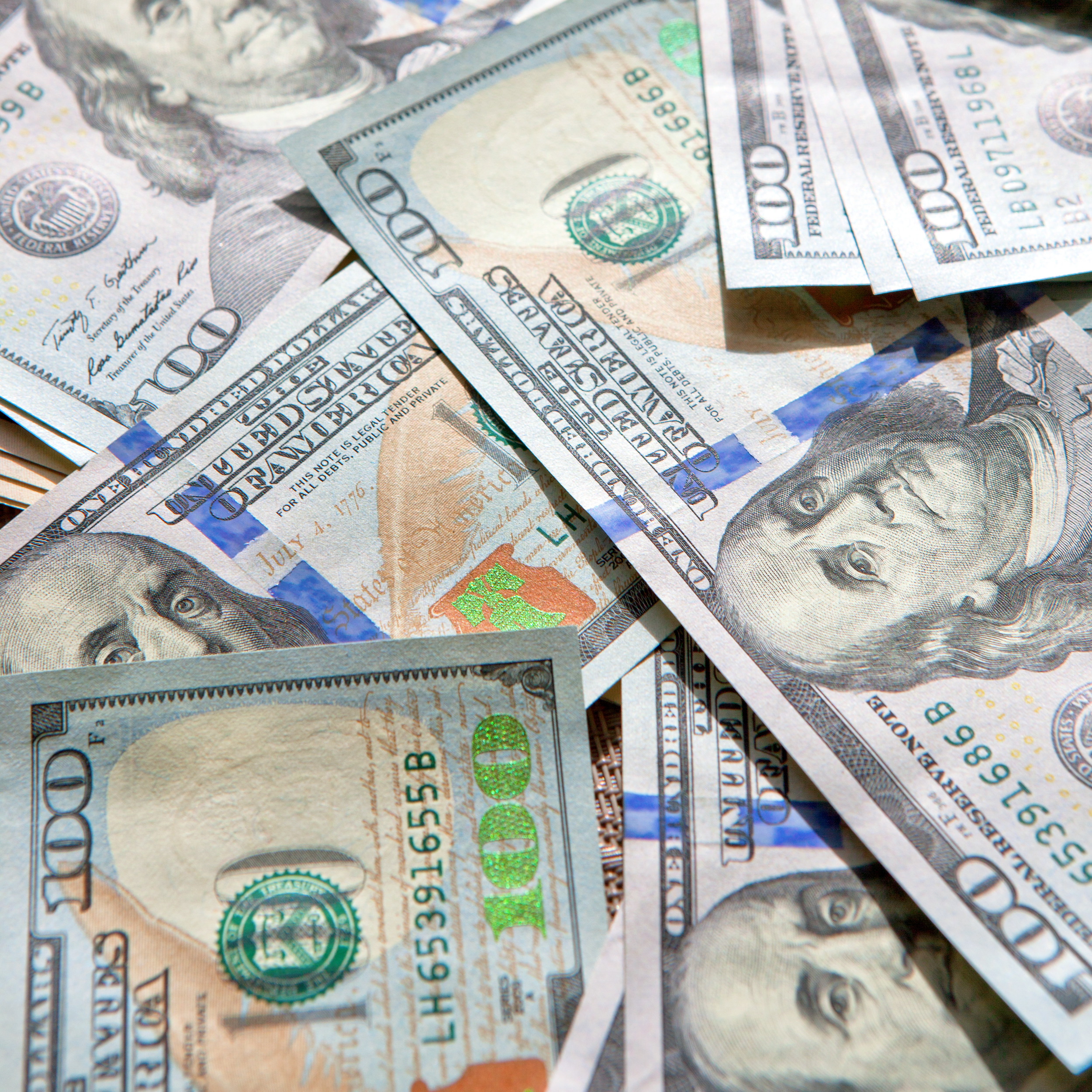 Dollars, 100, One, Investment, Many, HQ Photo