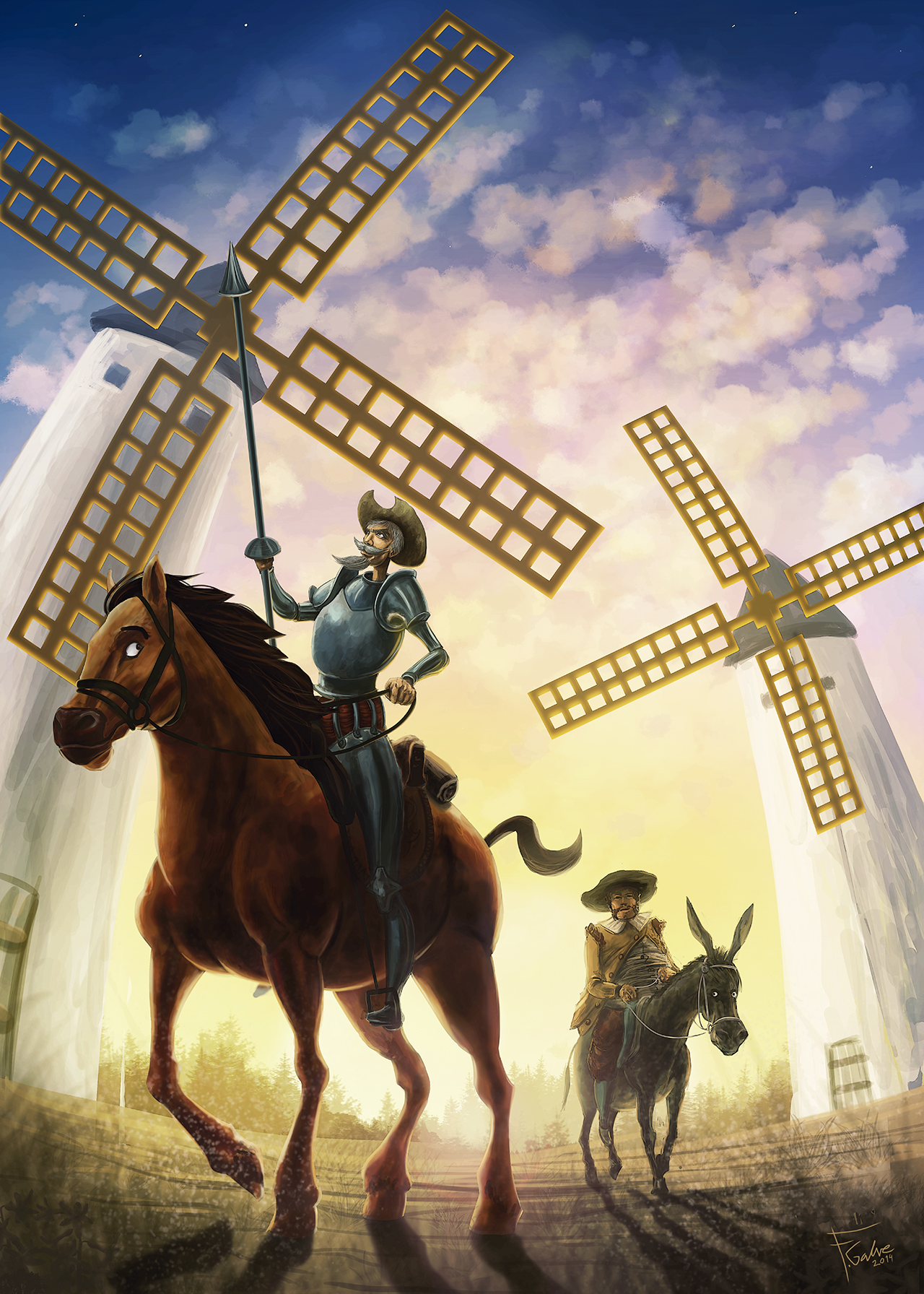 Don quijote photo