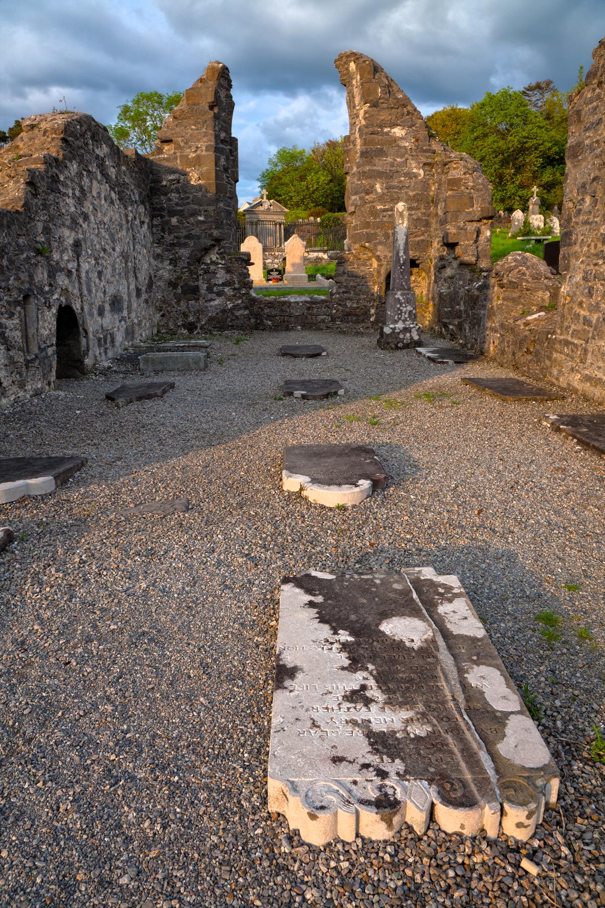 Donegal Cemetery - HDR, Black, Rip, Irish, Landmark, HQ Photo