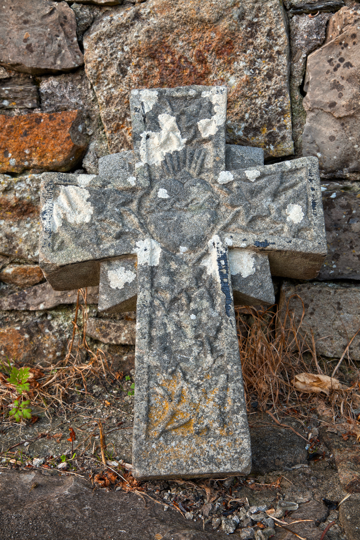 Donegal Cemetery Stone Cross - HDR, Ancient, Picture, Resource, Religious, HQ Photo