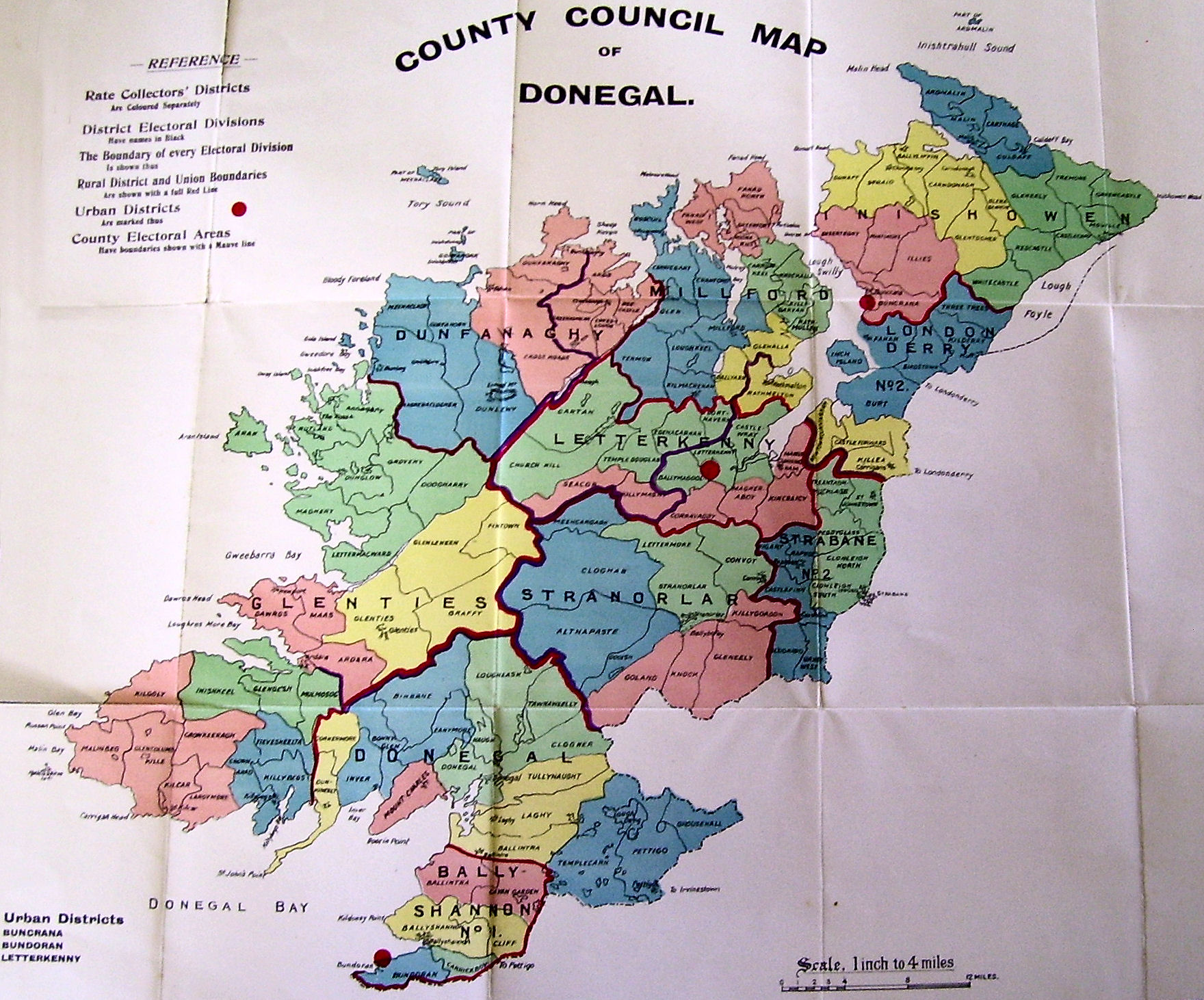 Online Maps For County Donegal