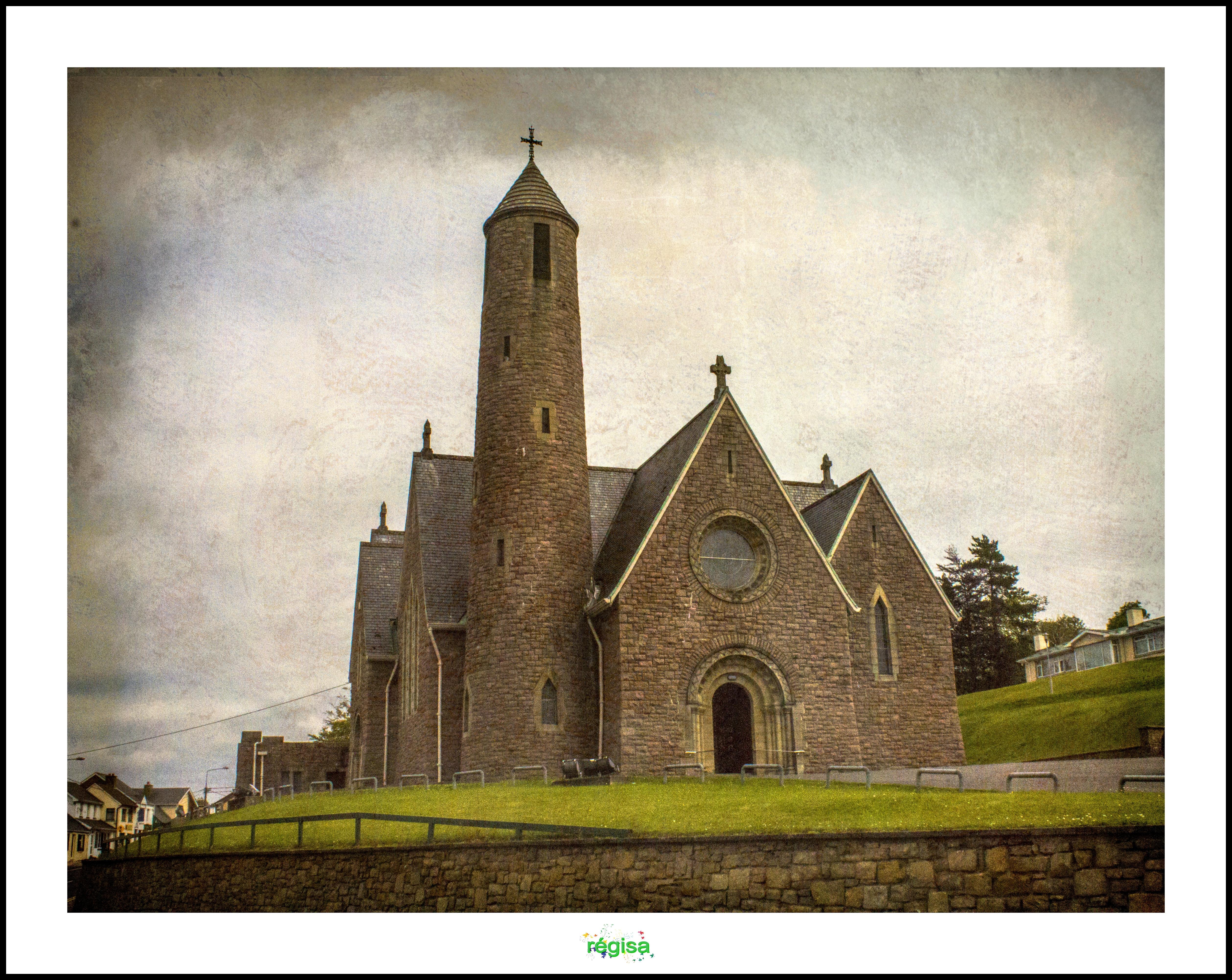 Wallpaper : city, building, sky, history, town, Ireland, church ...