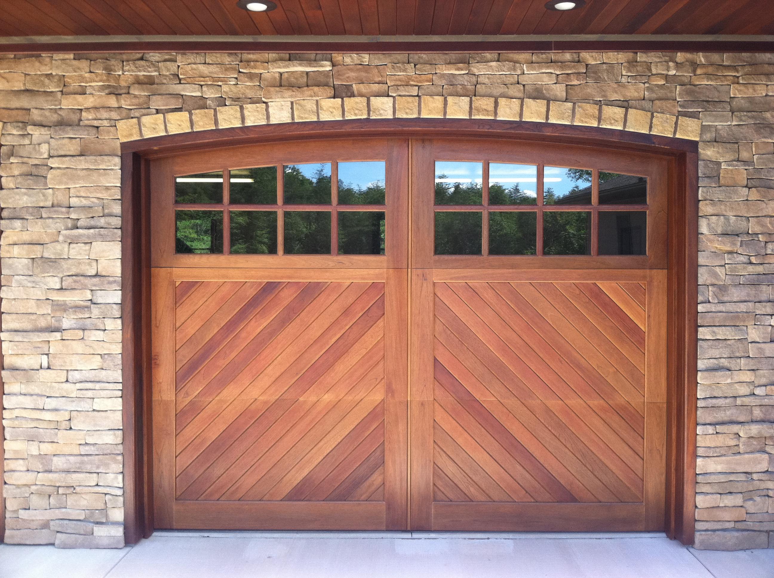 Wood Garage Doors and Carriage Doors - Clearville, Pennsylvania