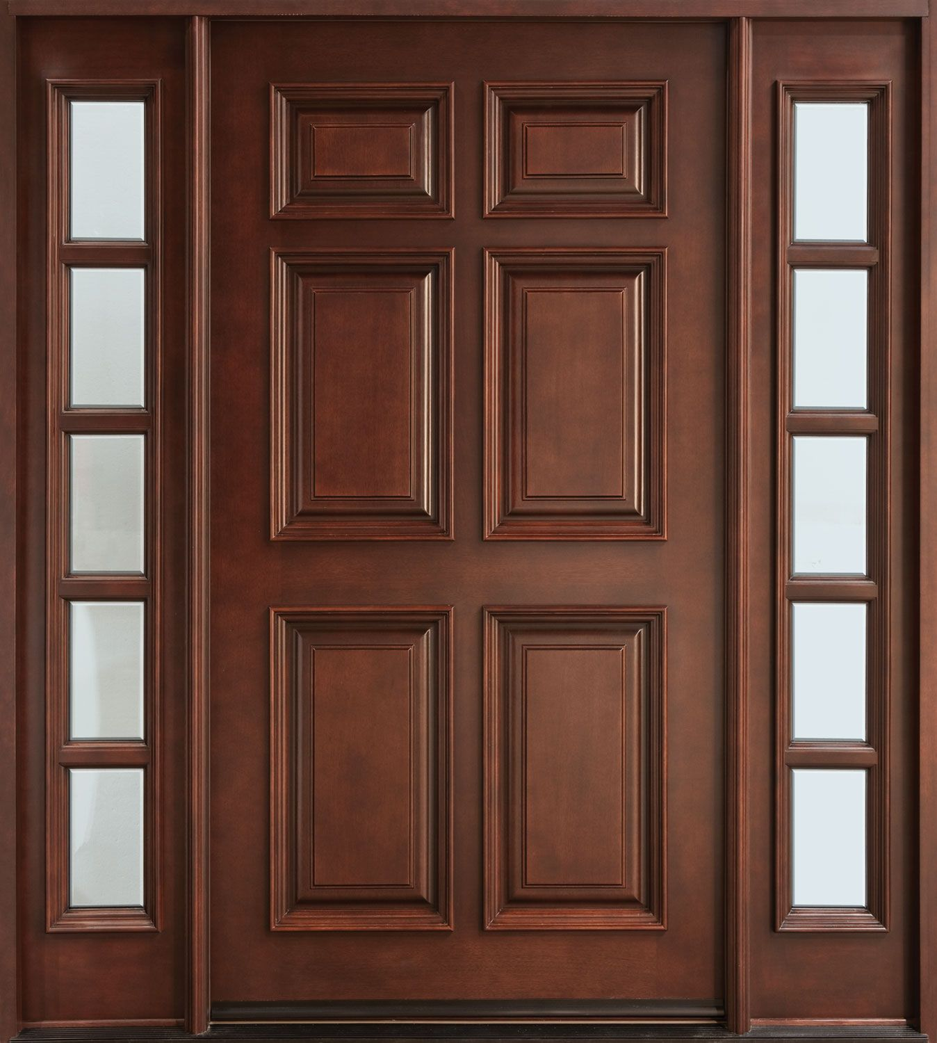 Wood Doors Simpson Door has built handcrafted solid wood doors since ...
