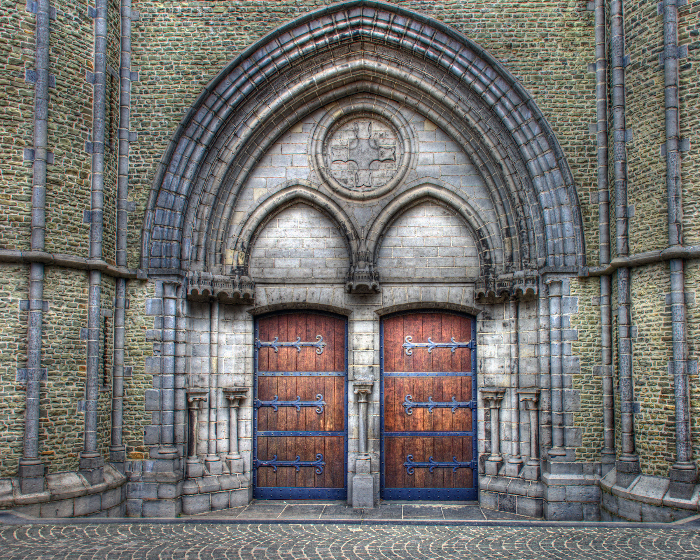 Doors, Ancient, Glass, Stone, Religious, HQ Photo