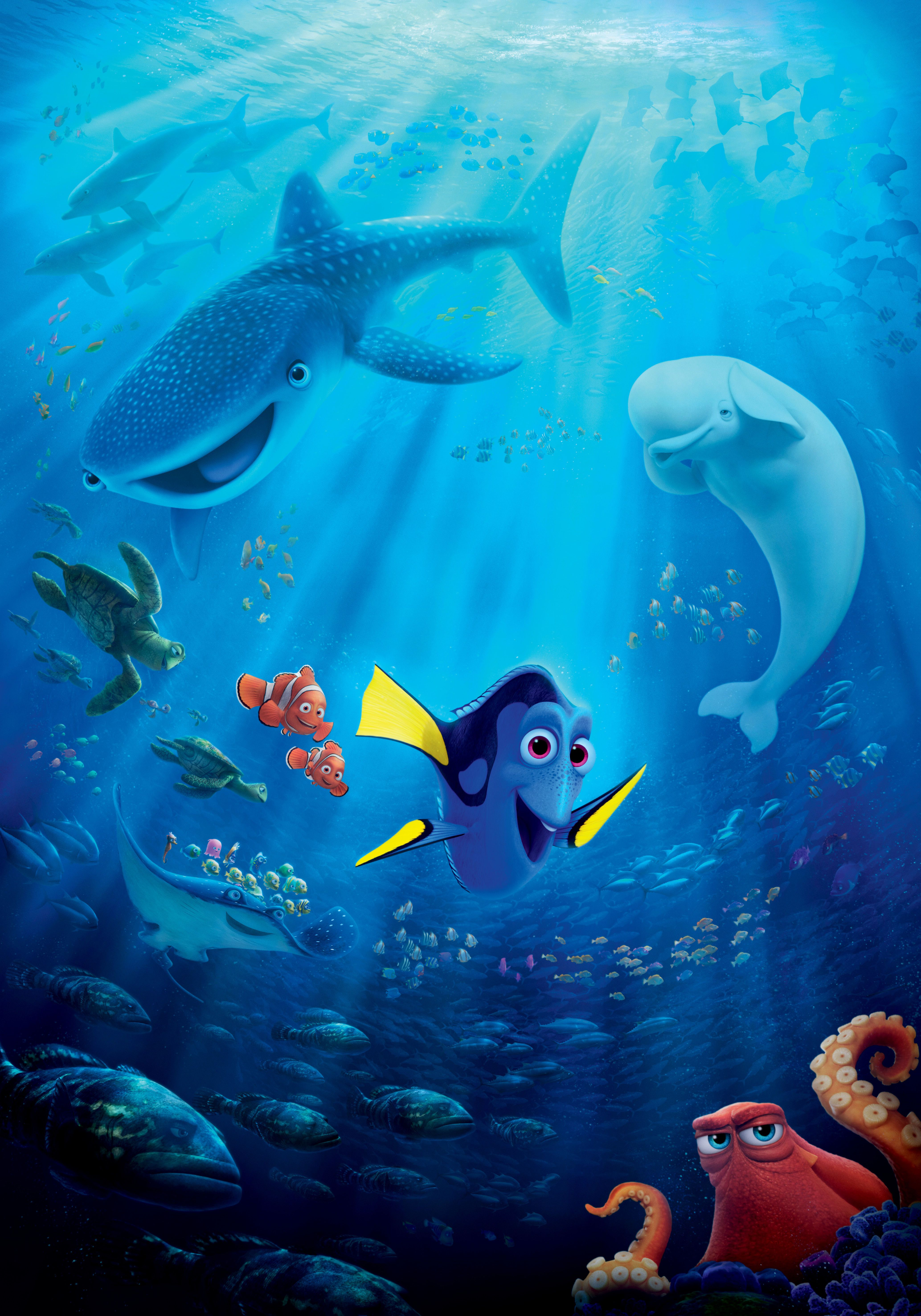 Finding Dory | Pixar shorts, Feature film and Finding nemo
