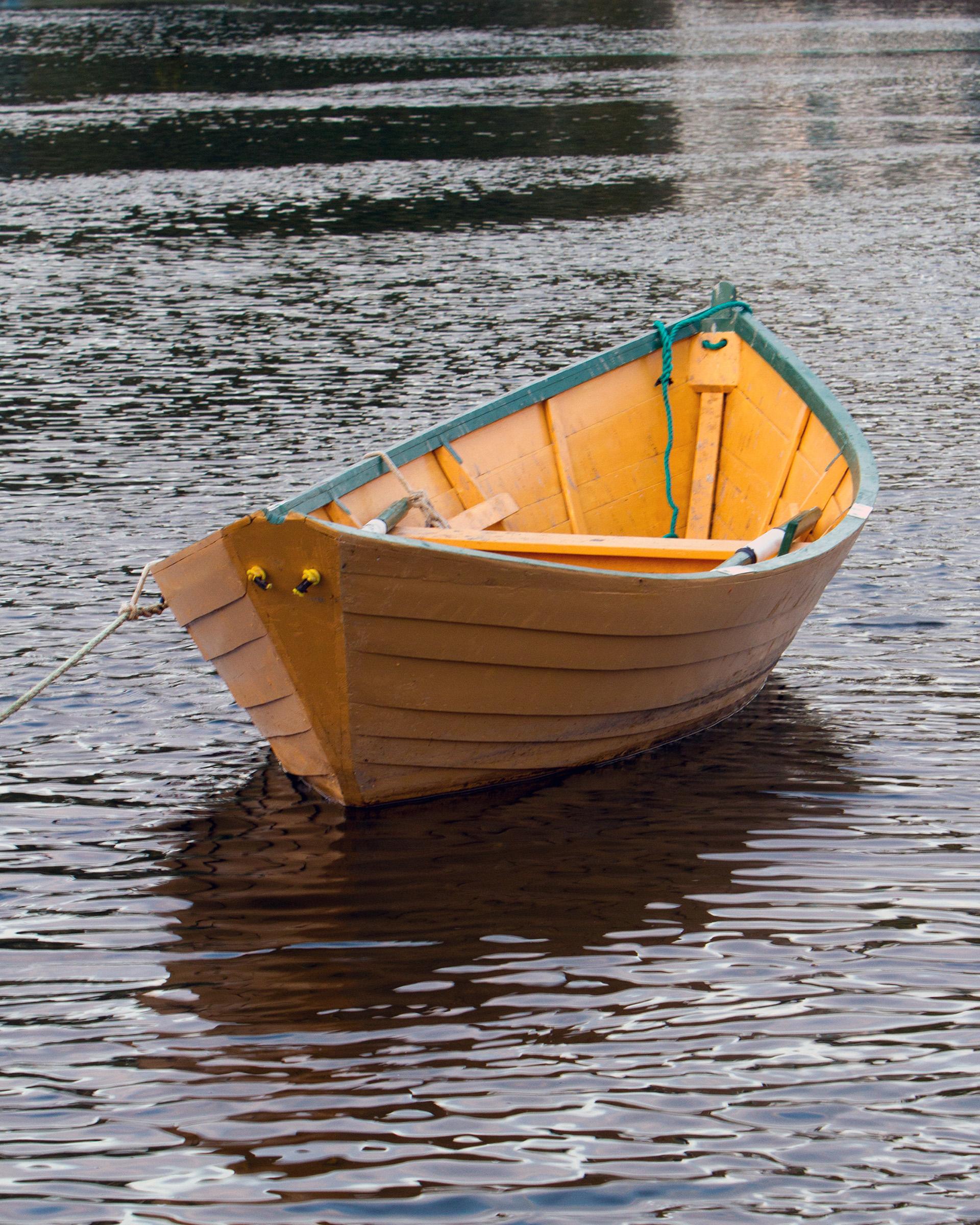 Dory, Anchor, Skiff, Rowboat, Rowing, HQ Photo