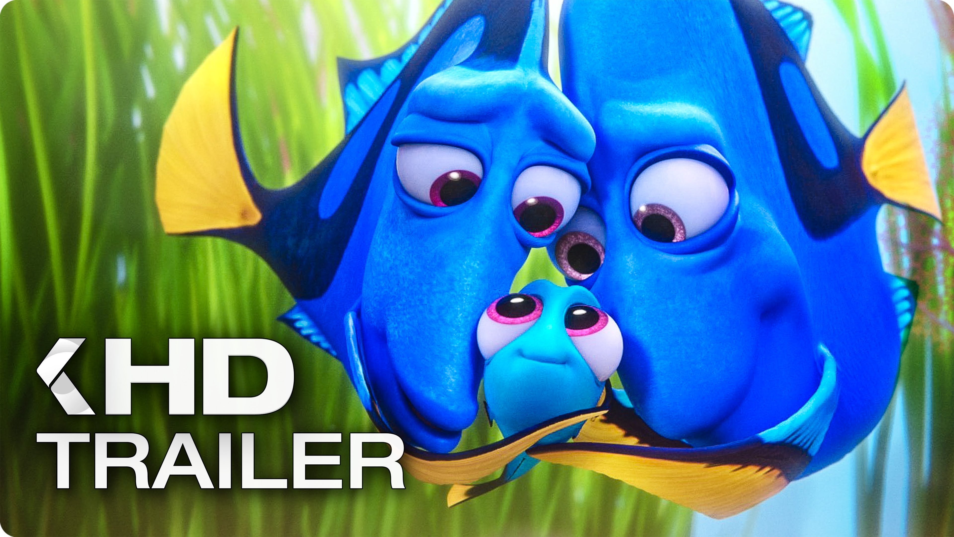 Finding Dory ALL Trailer & Clips (2016) - YouTube