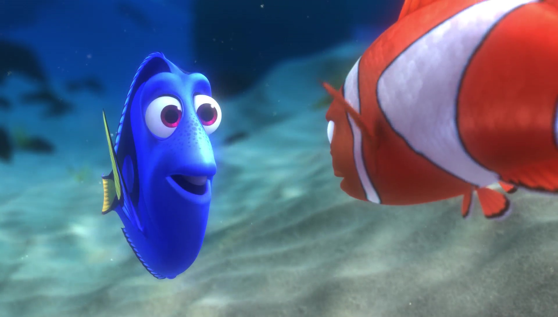 "Dory, character from ""Finding Nemo"". 