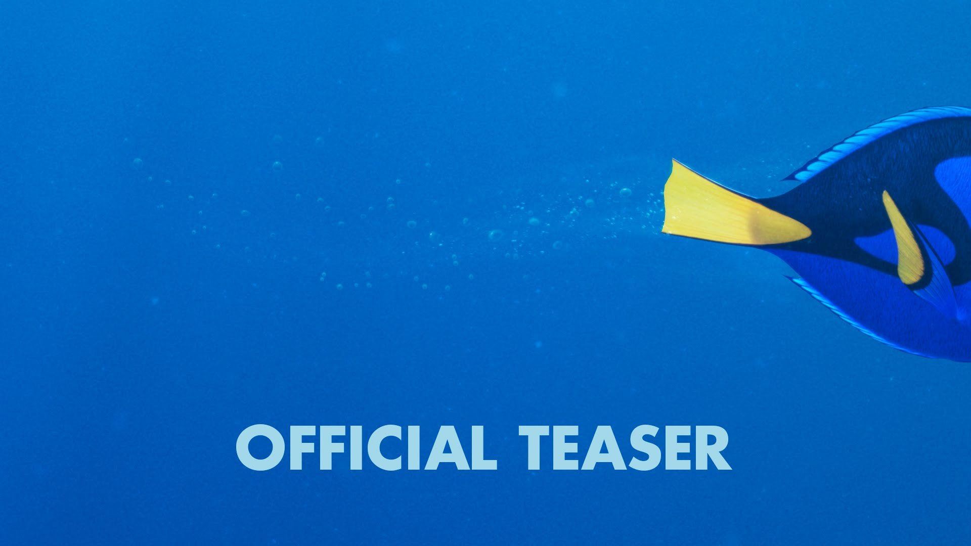 Finding Dory - Official US Teaser Trailer - YouTube