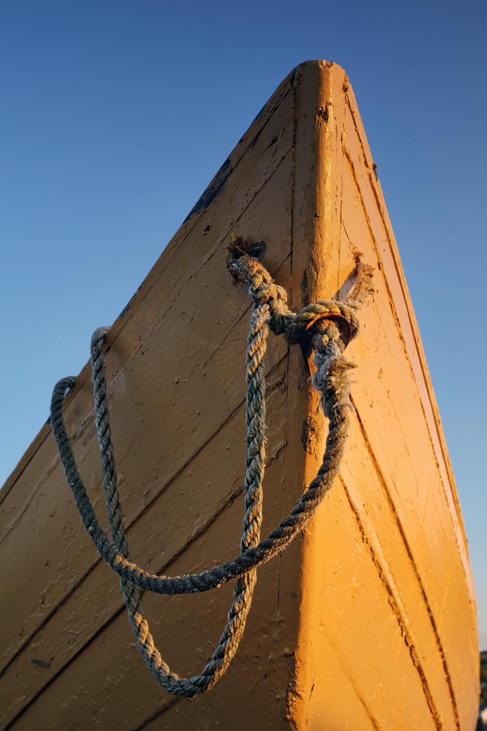 Dory, Atlantic, Rope, Wooden, Wood, HQ Photo