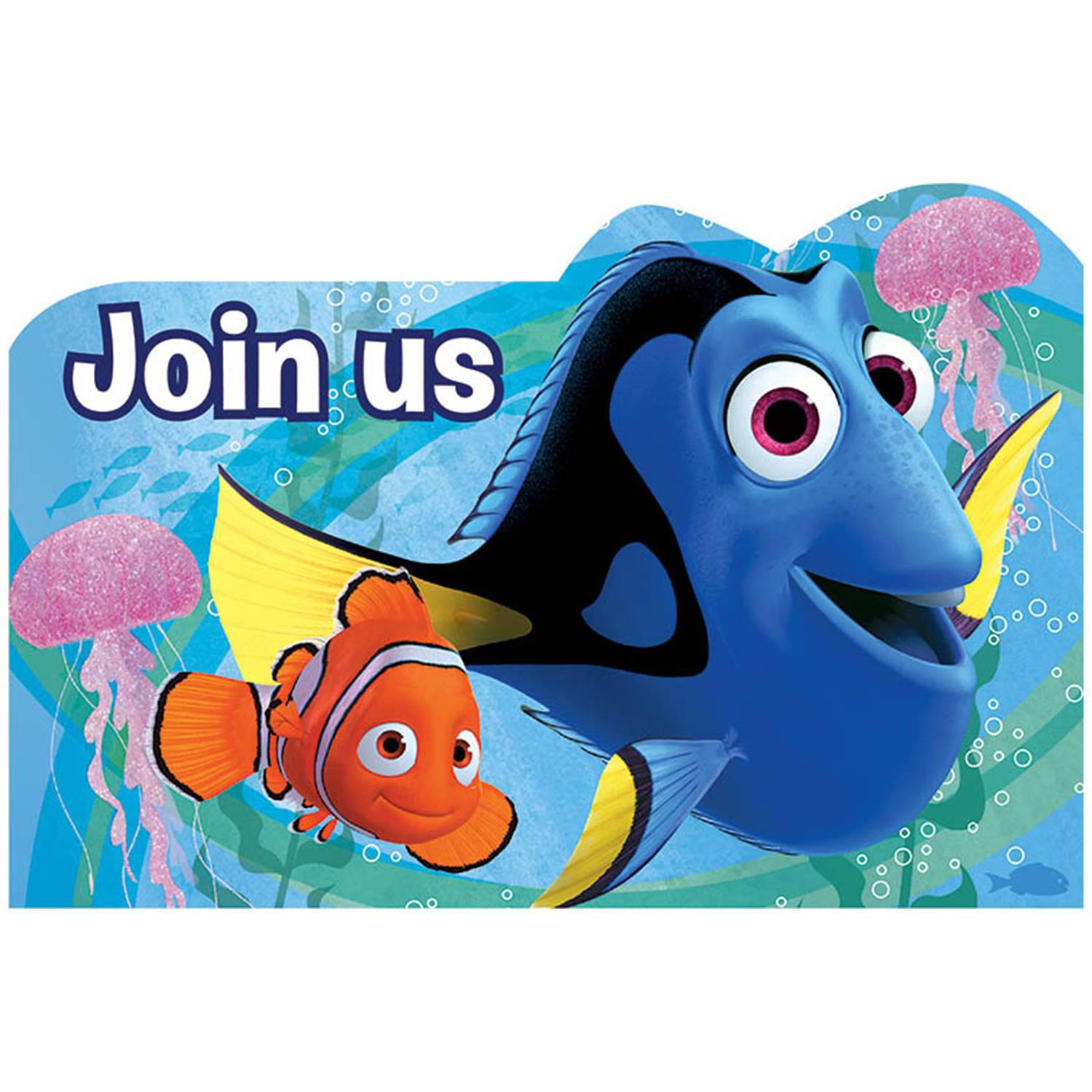 Disney Finding Dory Invitations, 8ct - Walmart.com