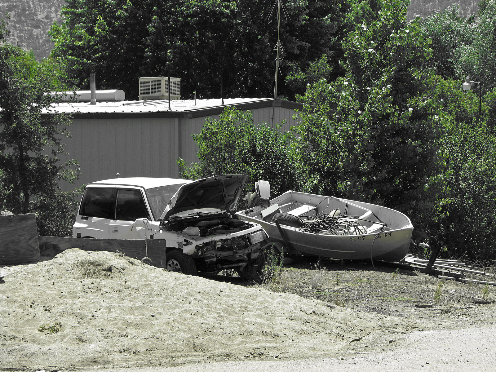 Double Damage, Accident, Boat, Bspo06, Car, HQ Photo