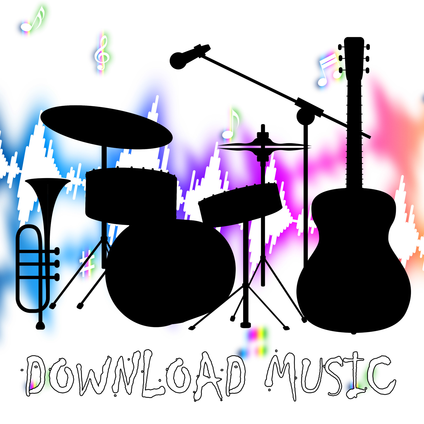Download Music Represents Sound Track And Audio, Acoustic, Musical, Web, Track, HQ Photo