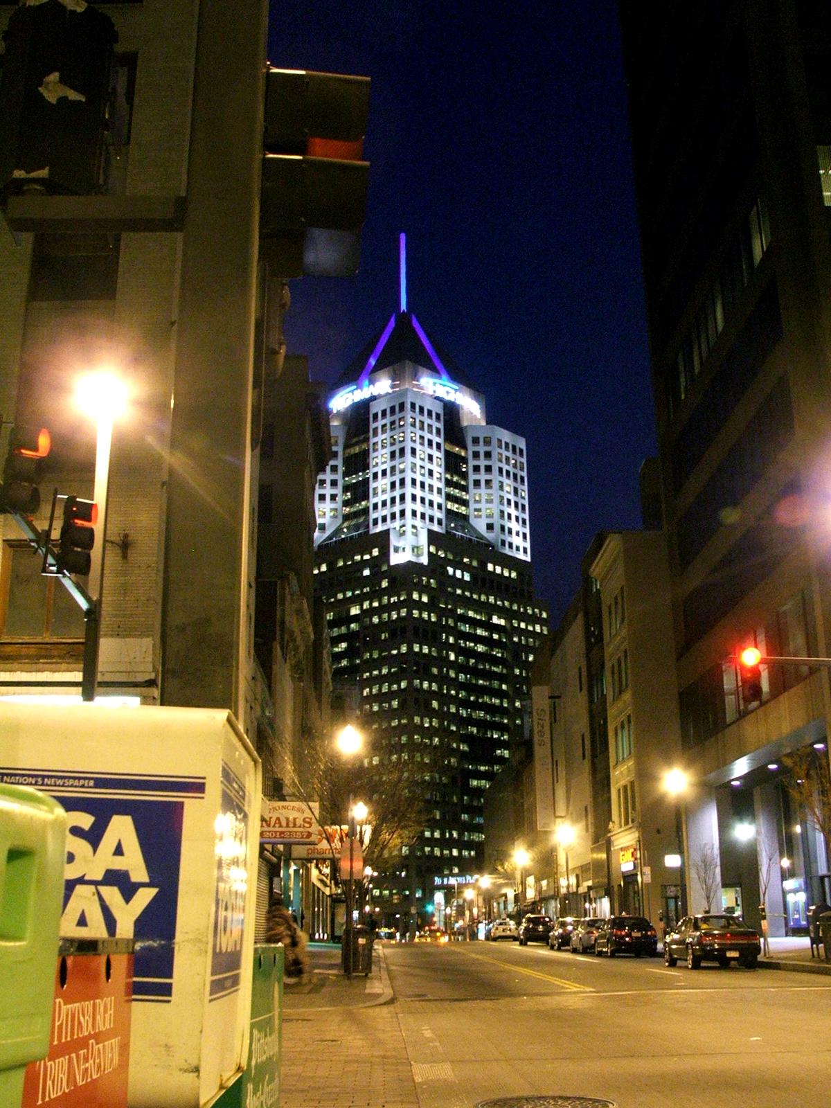 Downtown, Bspo06, Buildings, Light, Night, HQ Photo