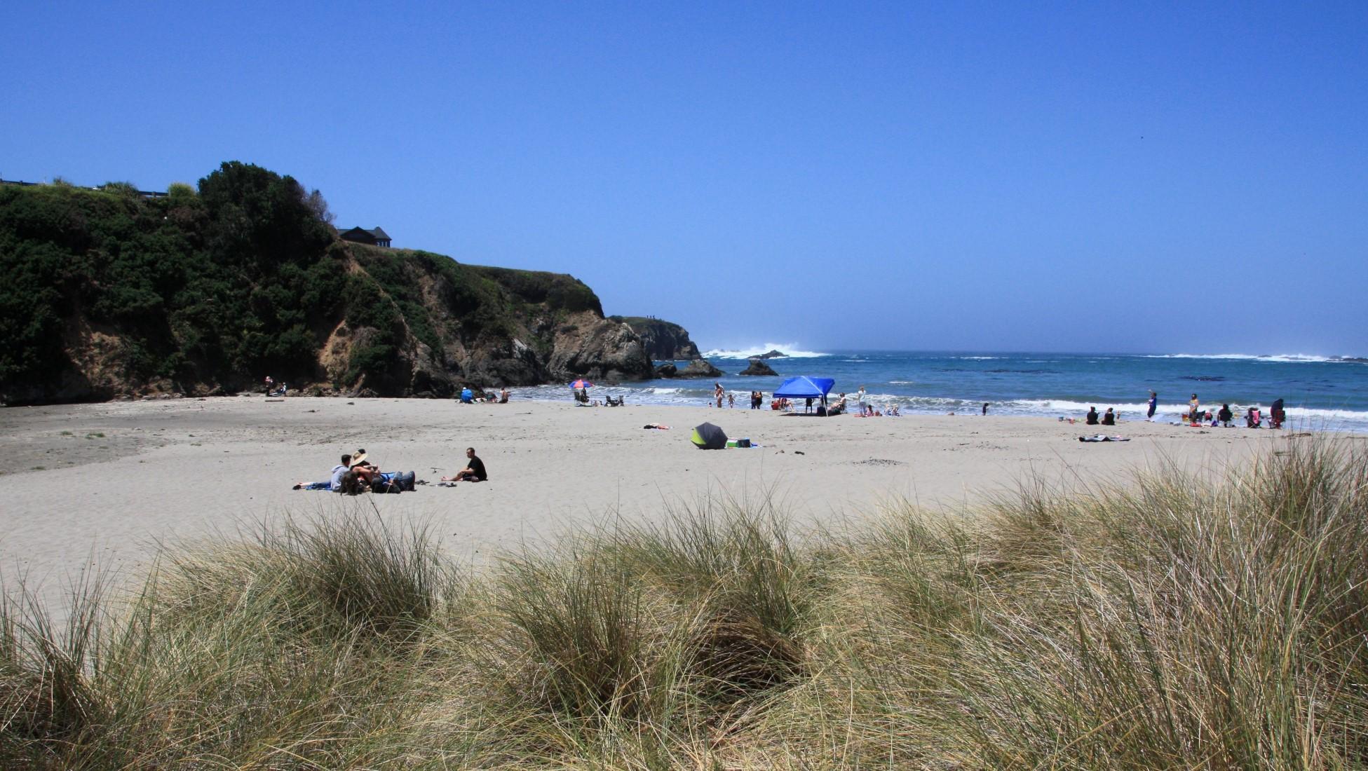 Caspar State Beach, Mendocino, CA - California Beaches