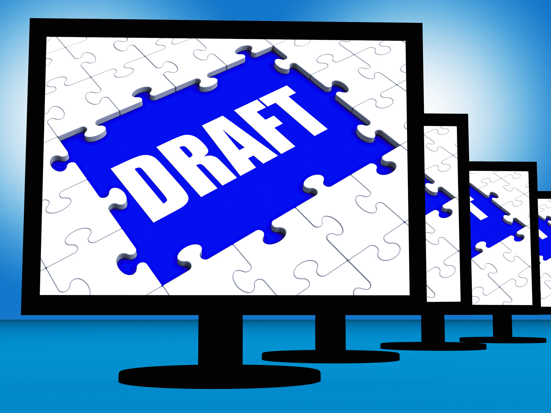 Draft Screen Shows Outline Documents Or Email Letter Online, Composition, Correspondence, Document, Draft, HQ Photo