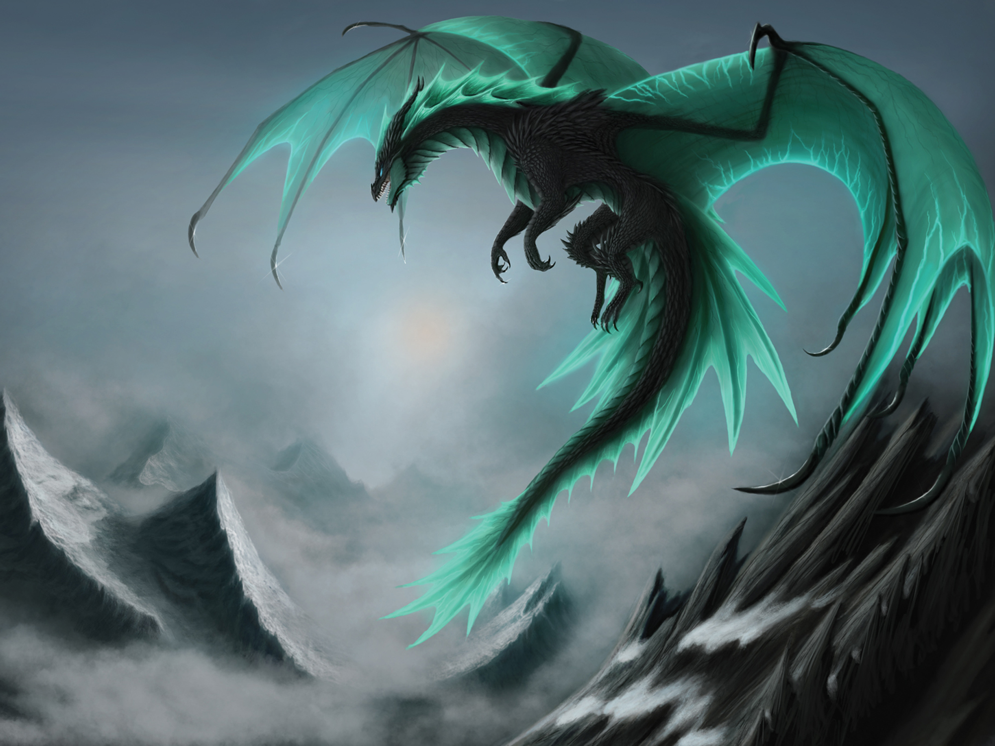 Fantasy Dragon wallpapers (Desktop, Phone, Tablet) - Awesome Desktop ...