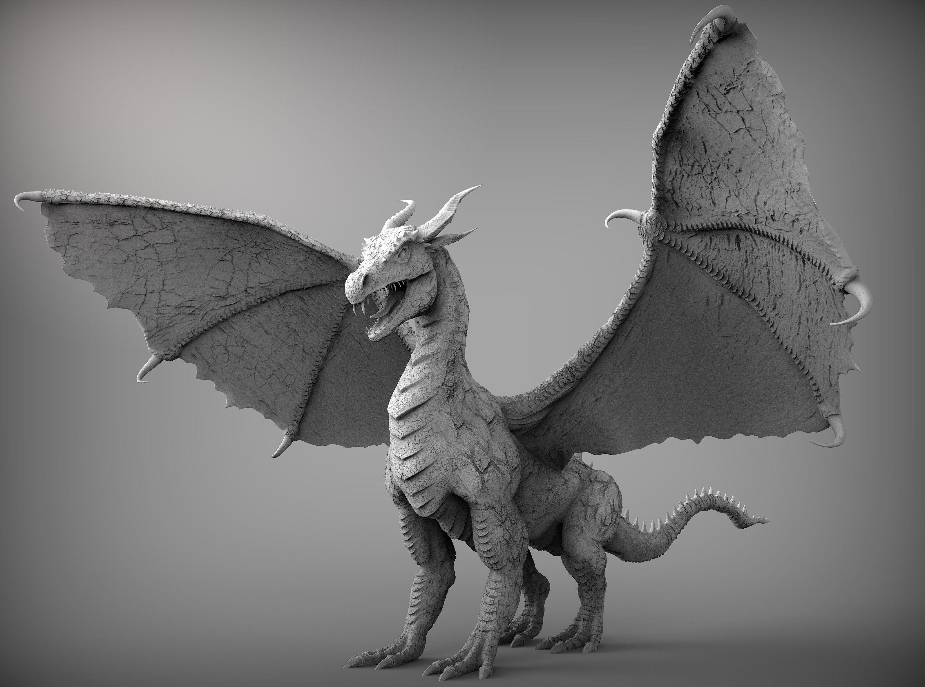 Free Photo Dragon Model Chinese Dragon Mythical
