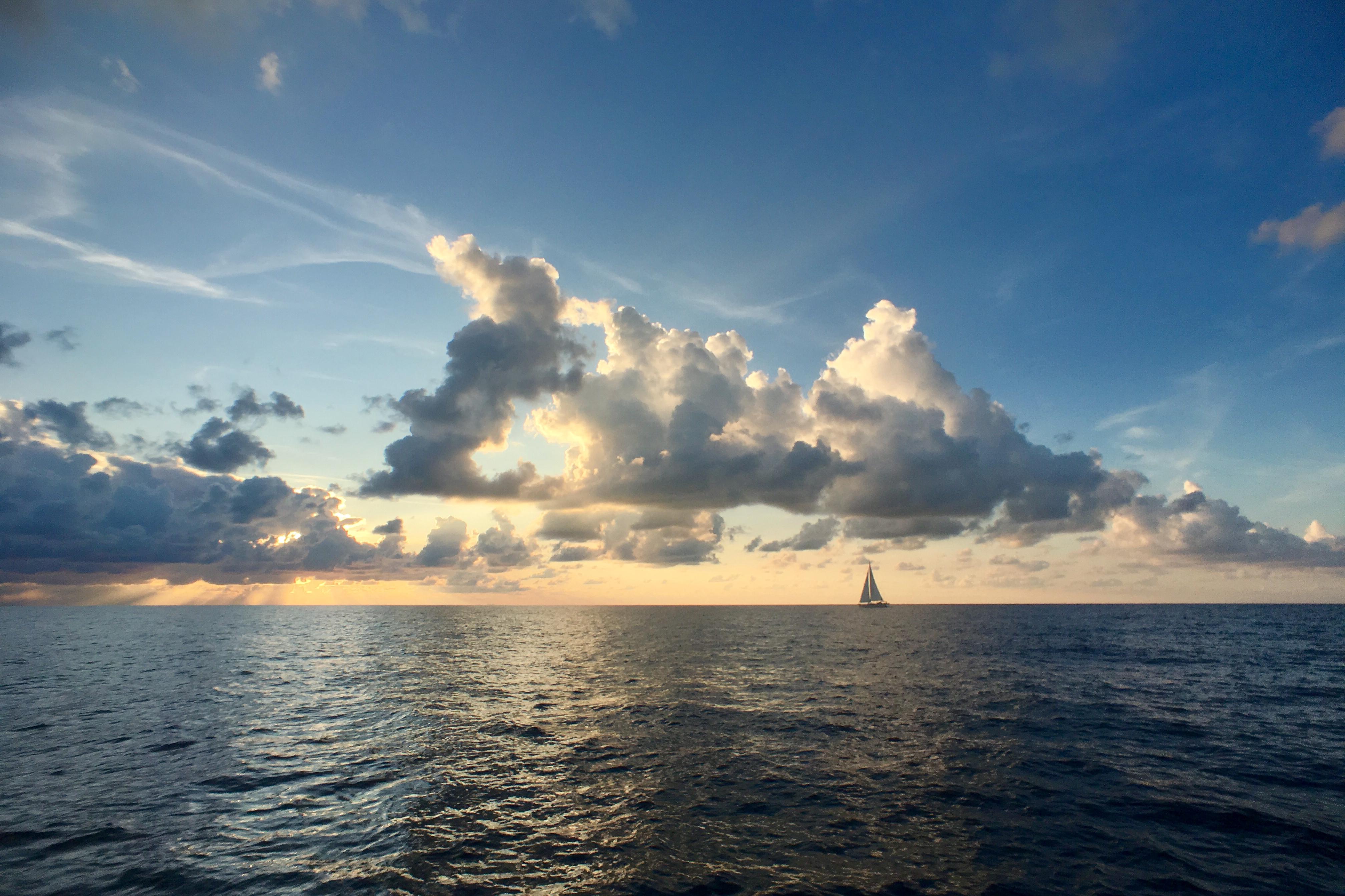 Dream Team Turn 2017, Boat, Ocean, Sea, Sky, HQ Photo
