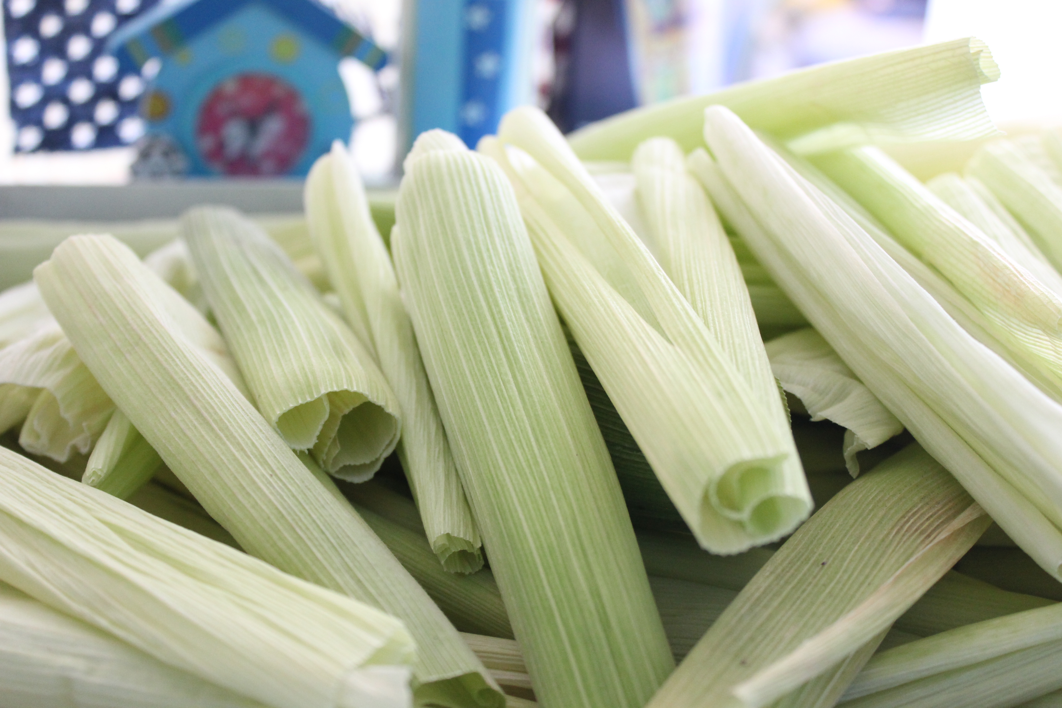 How to dry corn husks for tamales -