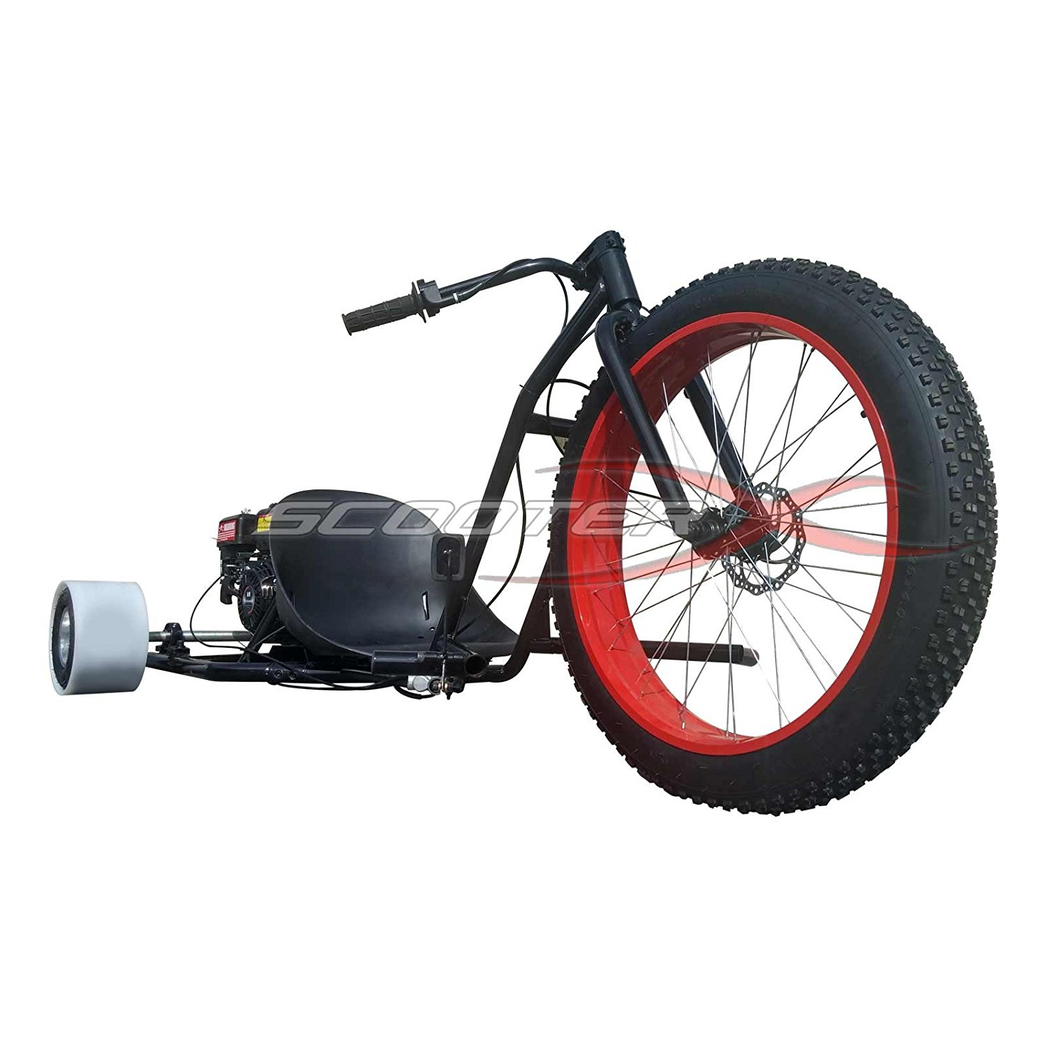 Amazon.com : ScooterX Drifter 6.5hp 196cc Drift Trike Drifting Go ...