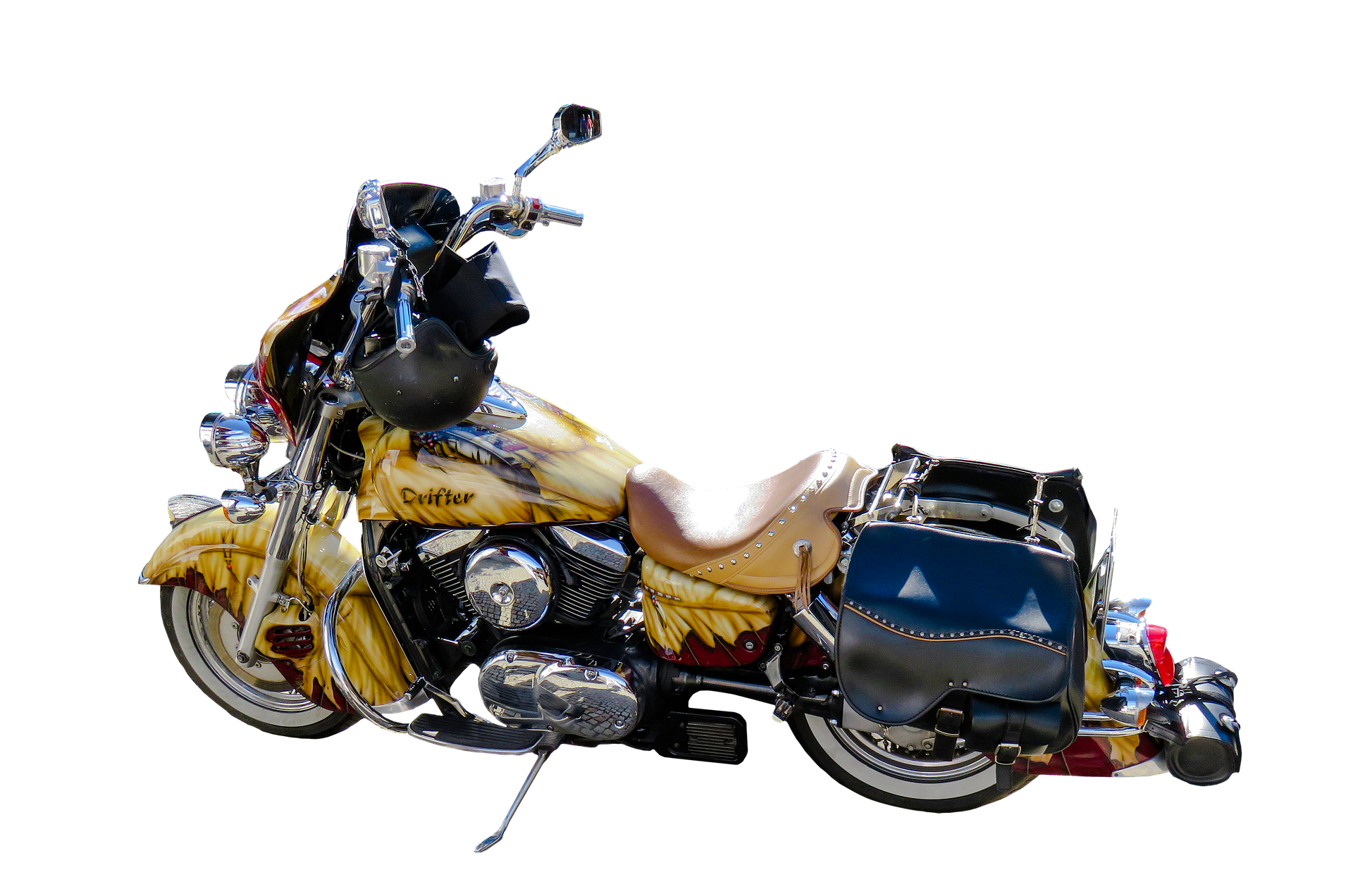 Drifter  Bike, Bike, Custom, Drifter, Motor, HQ Photo