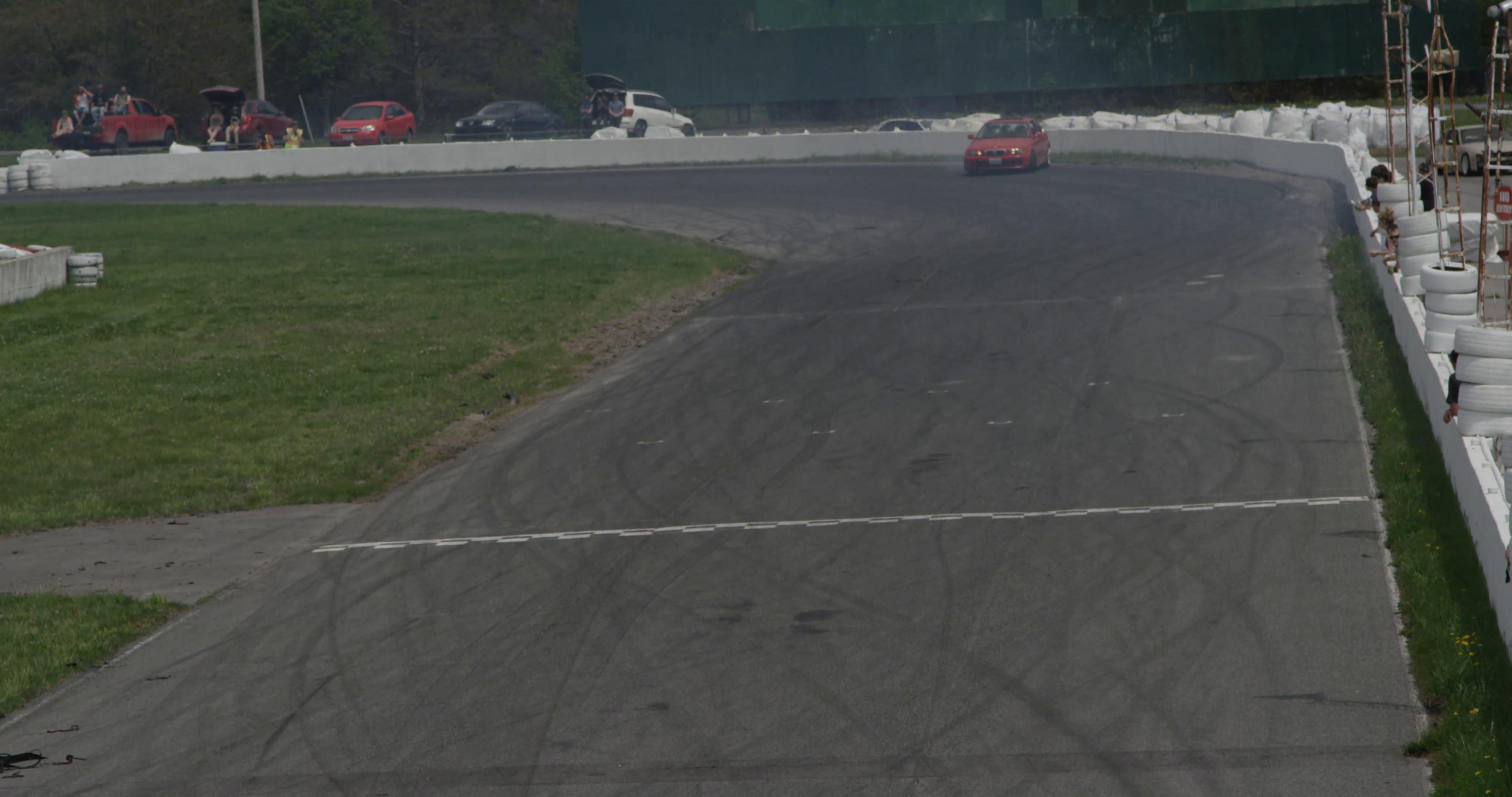 Drifting track photo