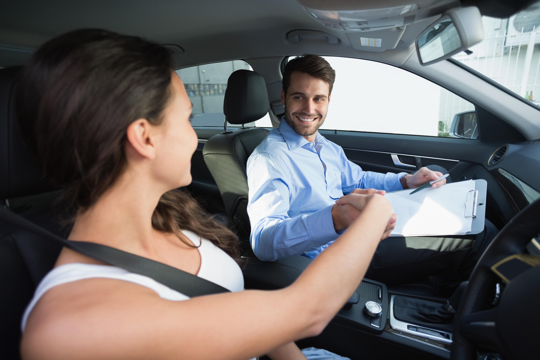 Driver test photo