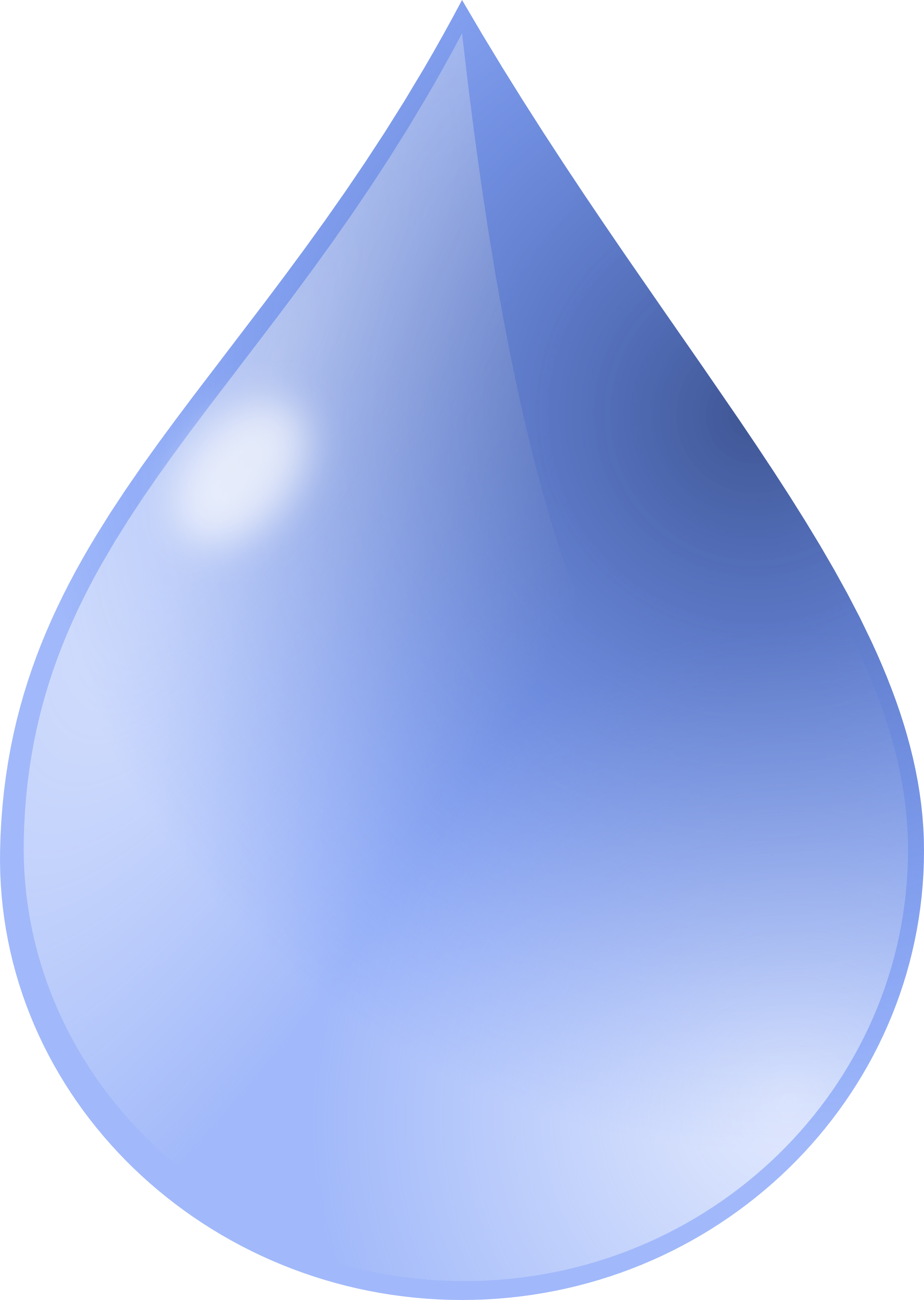 Water Drop Clipart Illustration