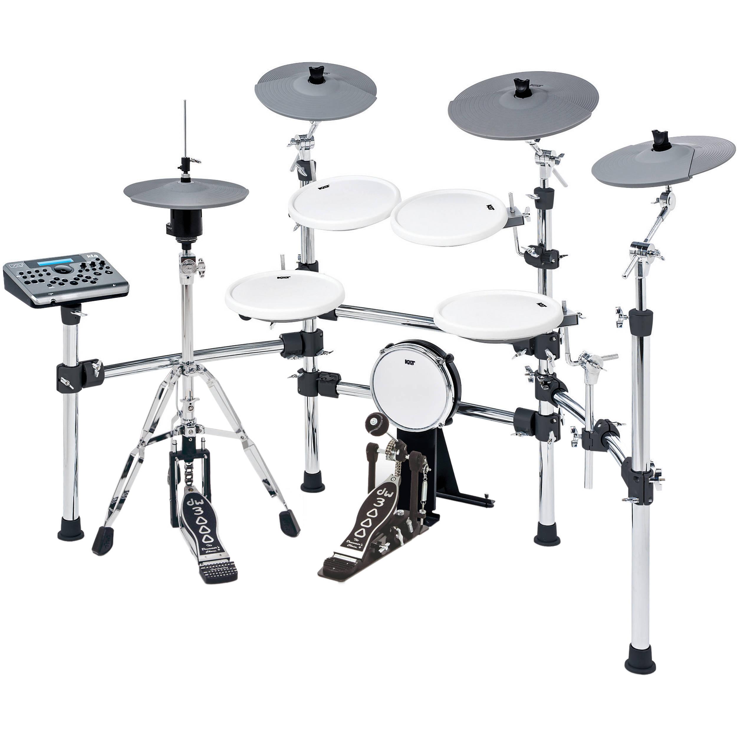 KAT KT4 5-Piece Advanced Electronic Drum Kit KT4-US B&H Photo
