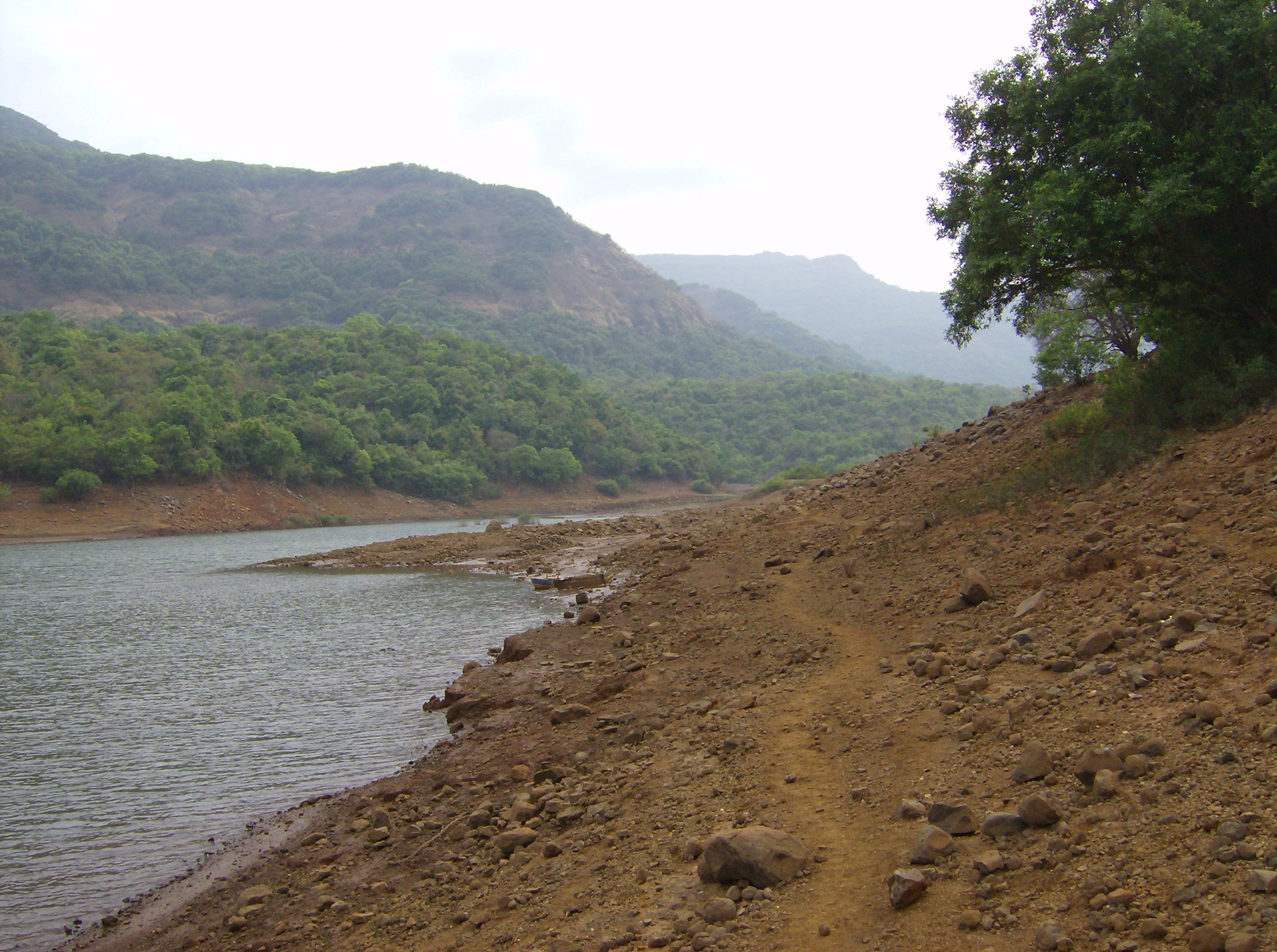 Dry landscape photo