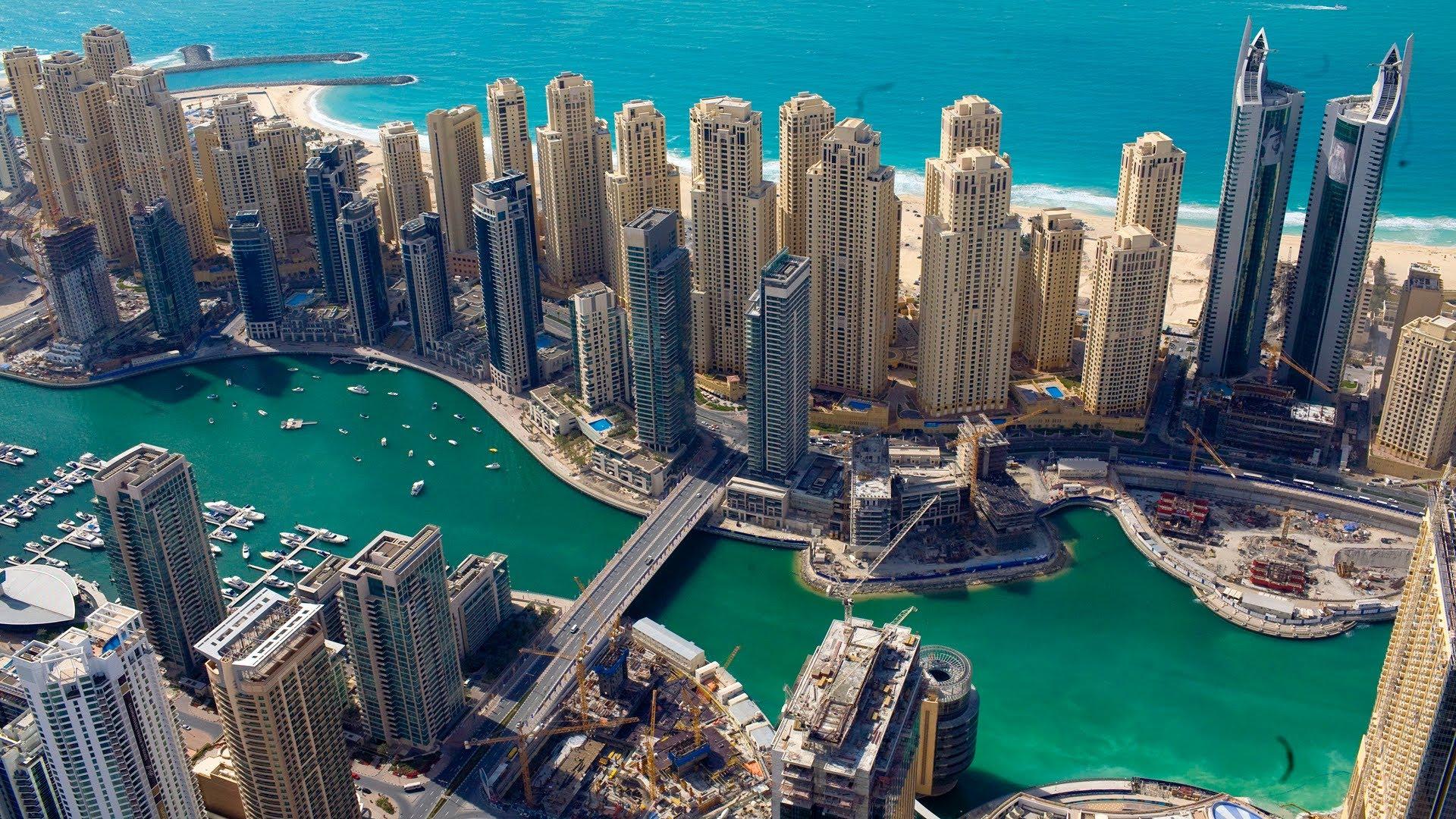 Dubai Marina / U A E - YouTube
