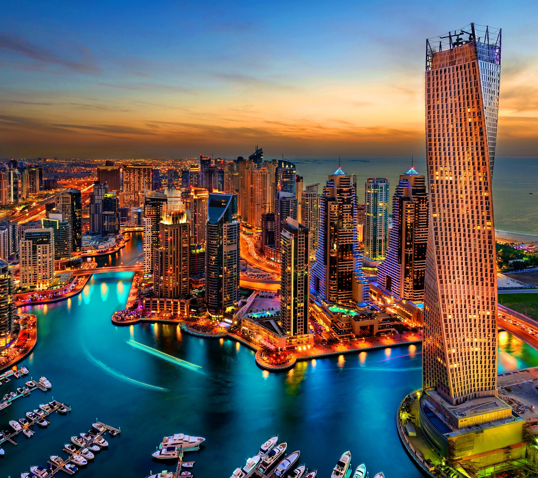 Dubai Marina Wallpaper 02 - [2880x2560]