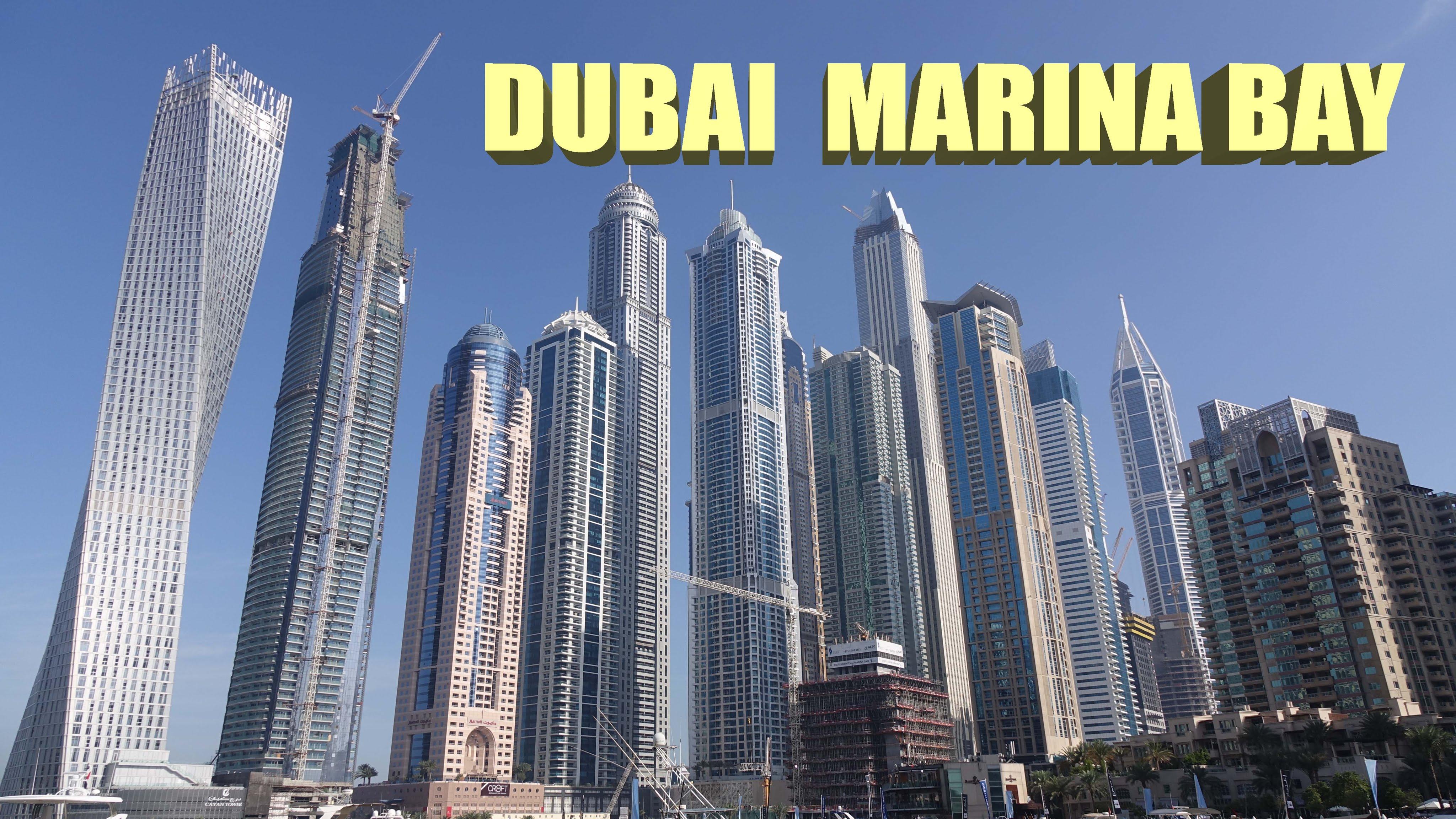 Dubai Marina Bay - Dubai 4K - YouTube