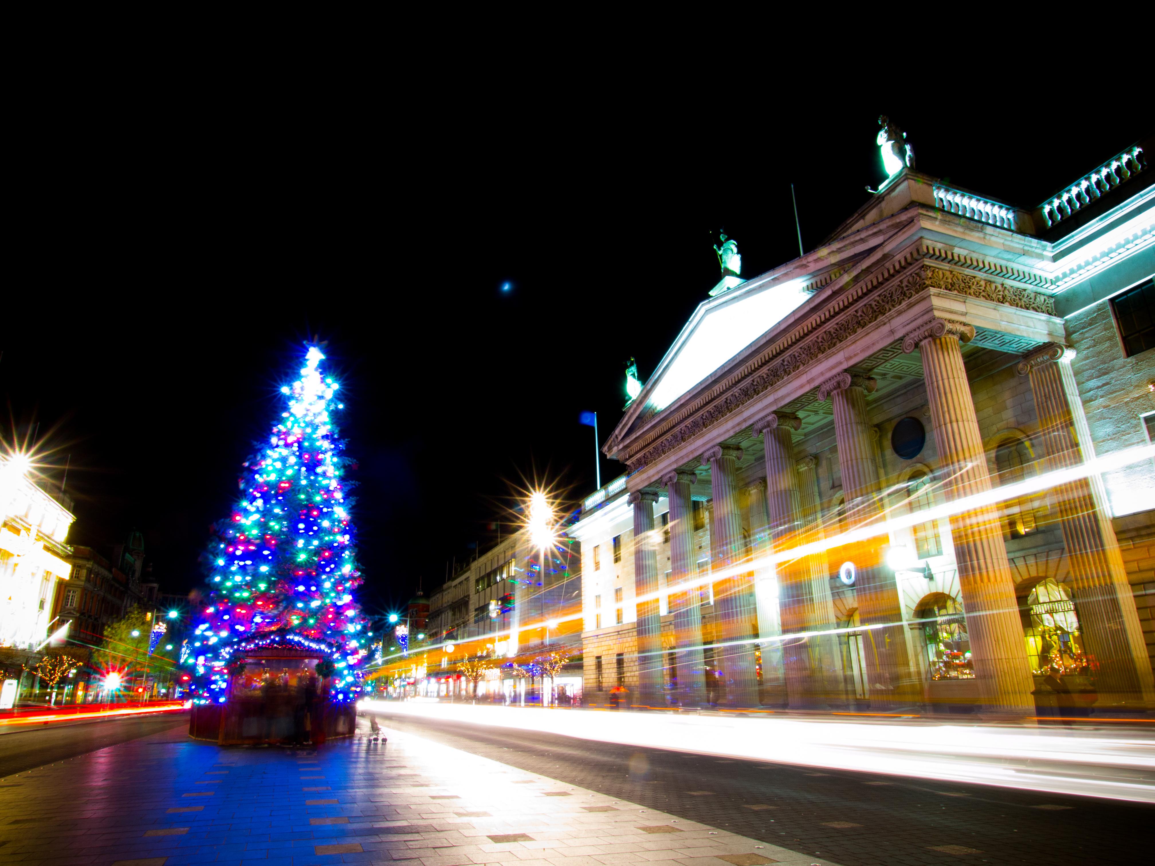 Dublin christmas lights 2013 photo