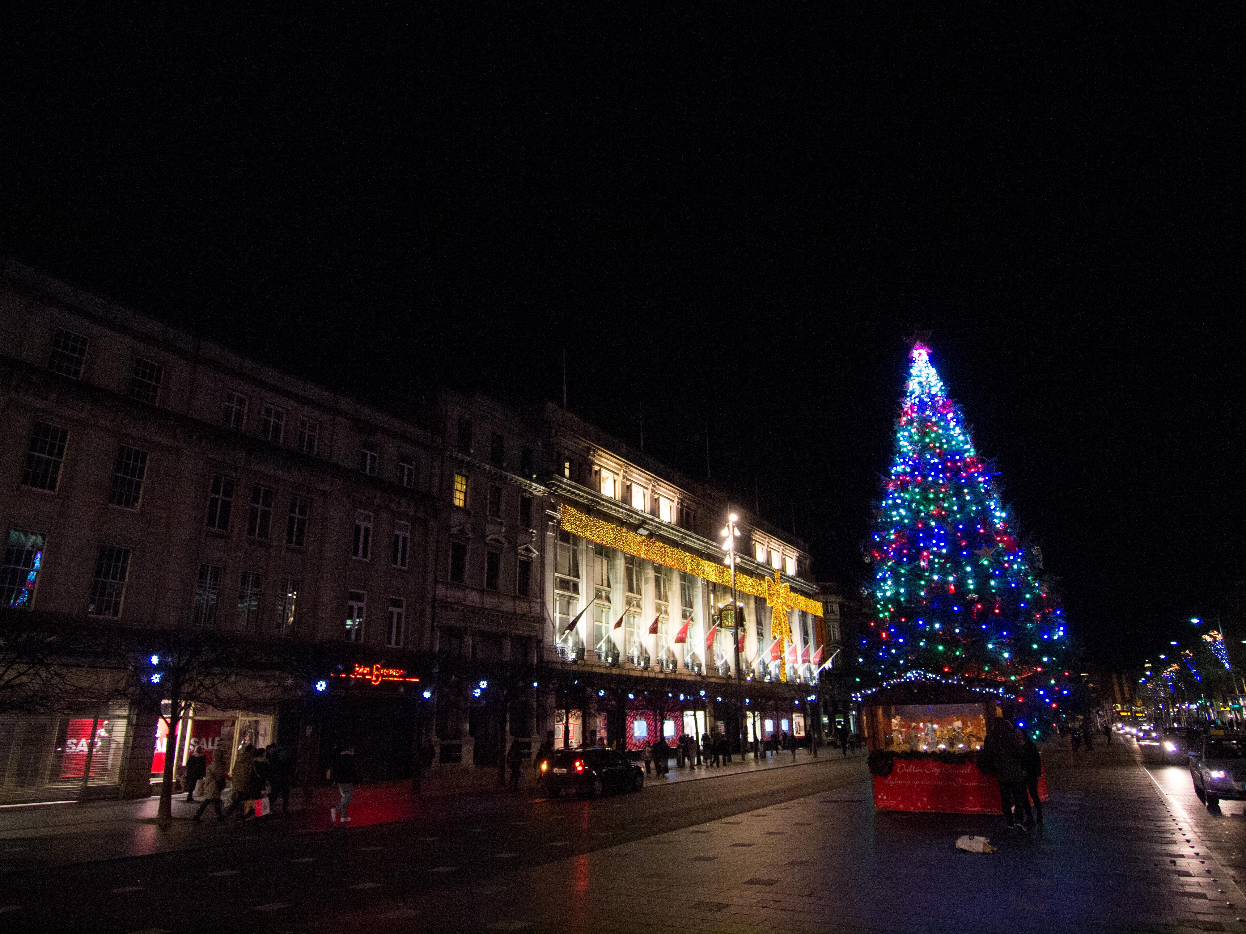 Dublin city christmas 2014 photo