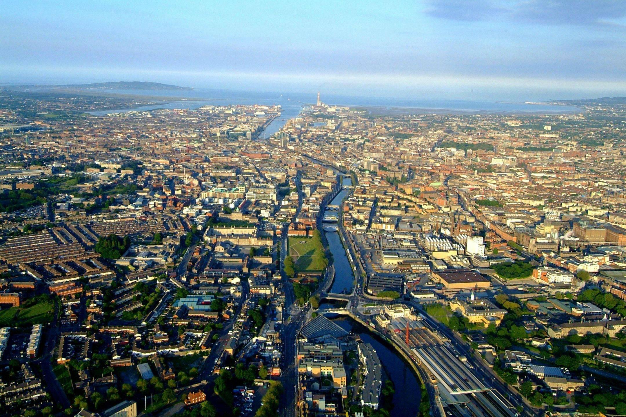 Dublin cityscape photo