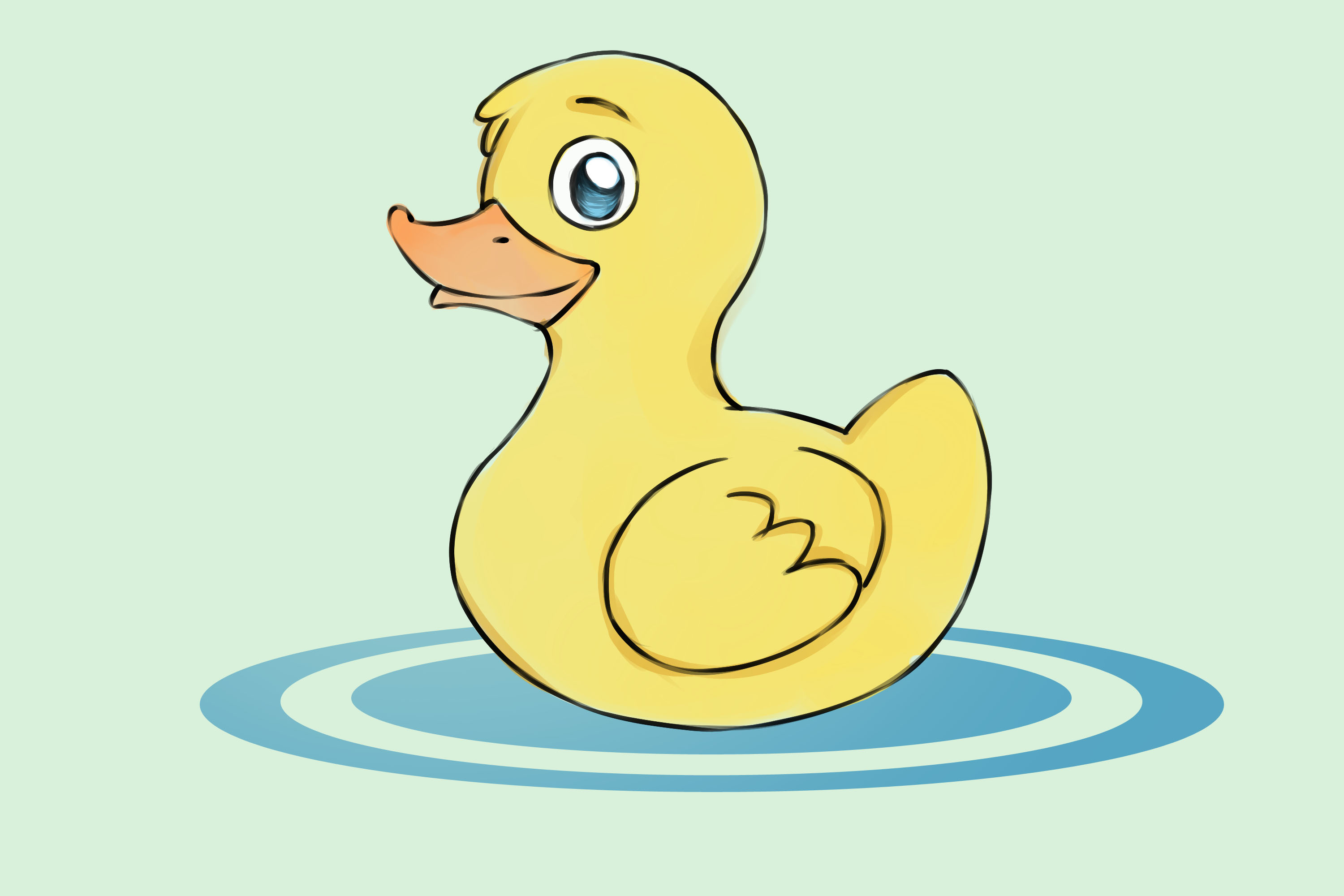 How to Draw Ducks (with Pictures) - wikiHow