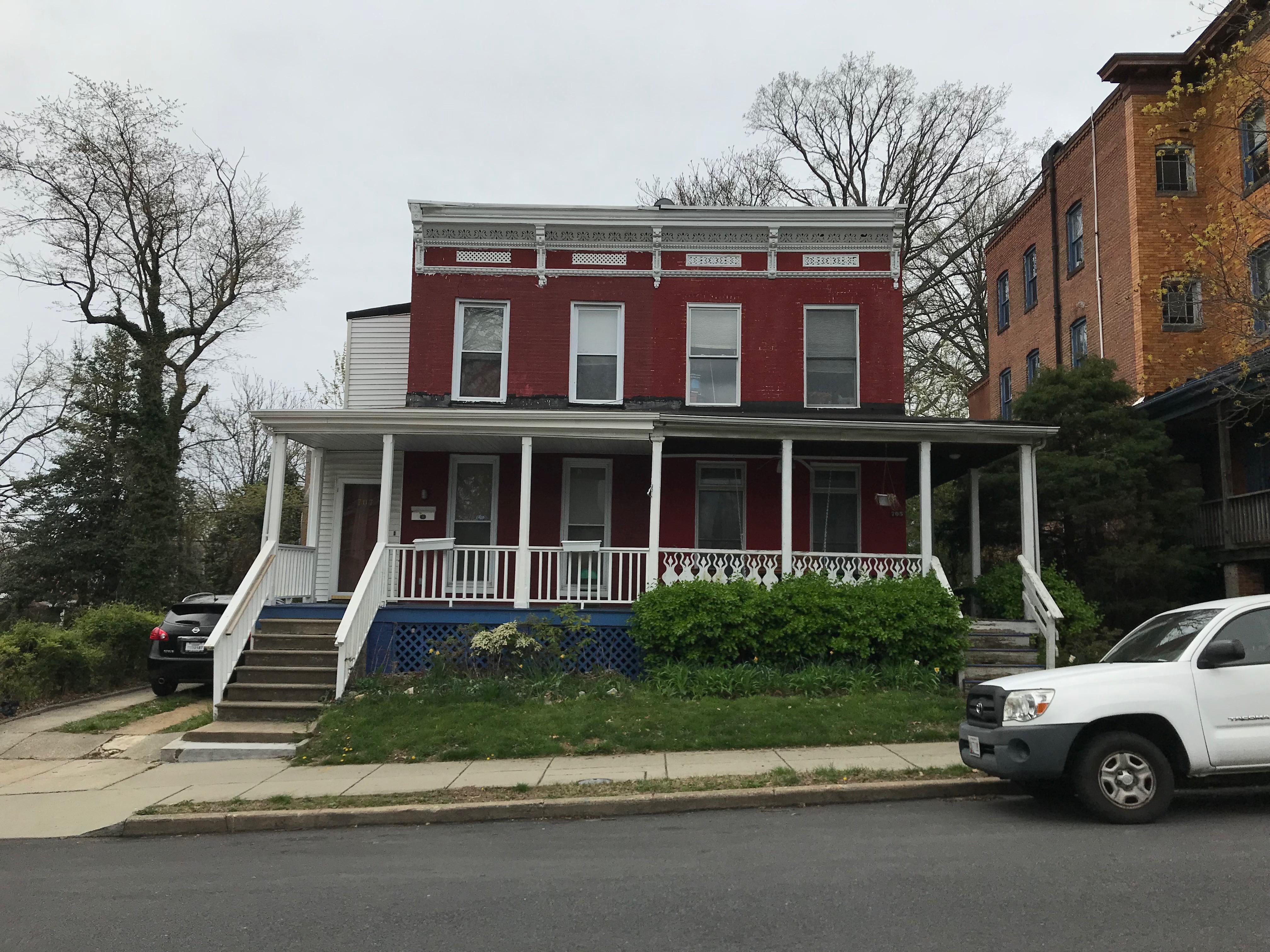 Duplex rowhouses, 705-707 gorsuch avenue, baltimore, md 21218 photo