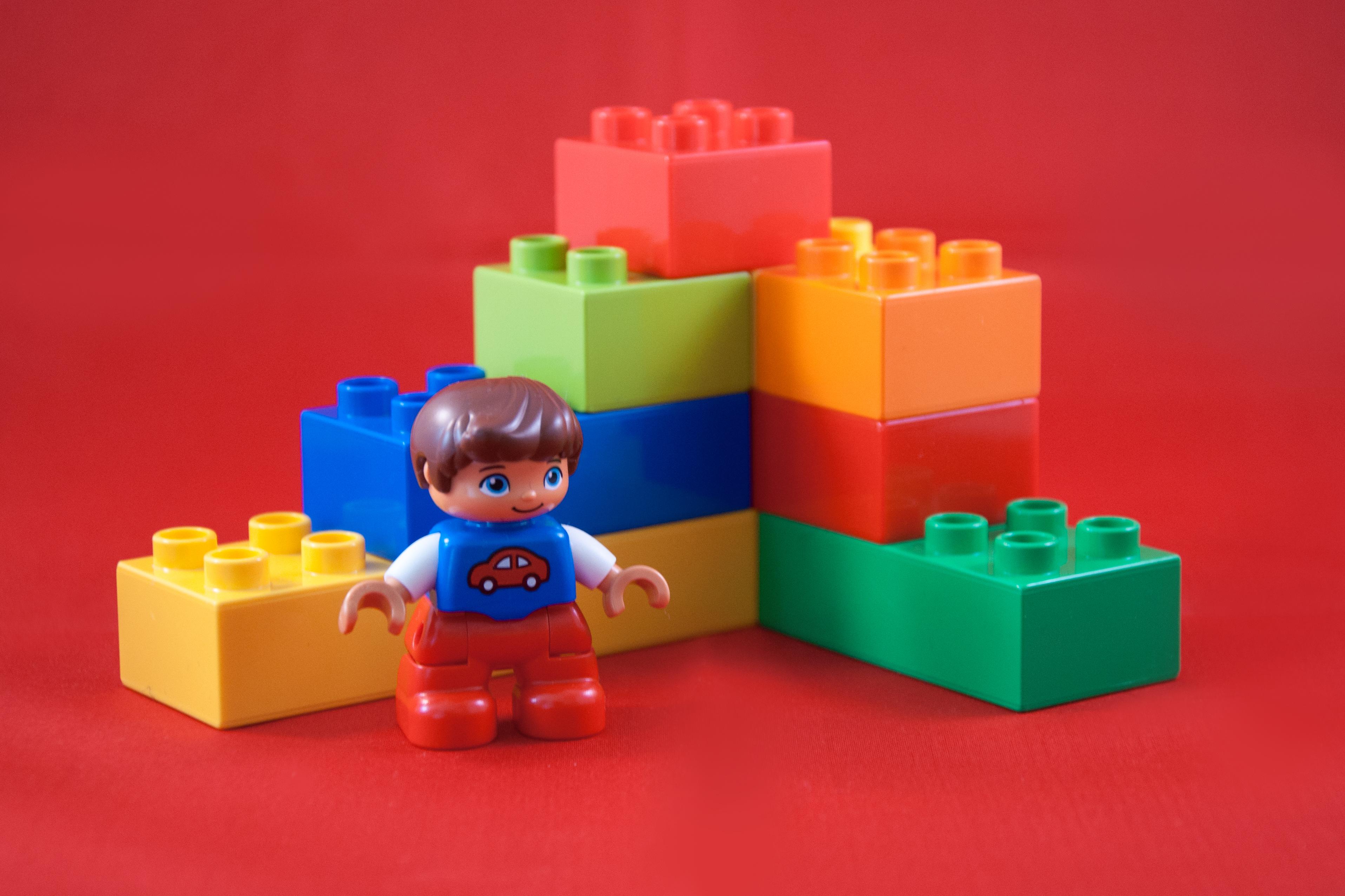 Duplo lego toy blocks photo