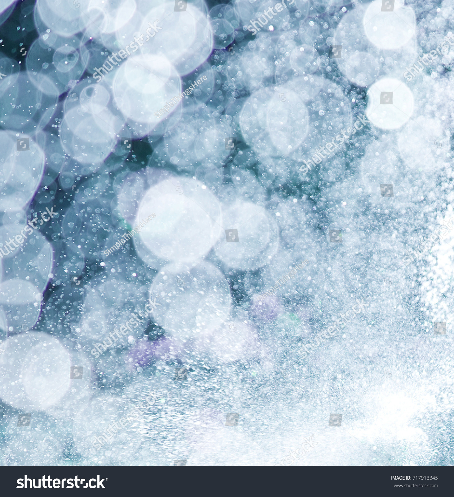 Abstract Texture Blue Background Circles Dust Stock Illustration ...