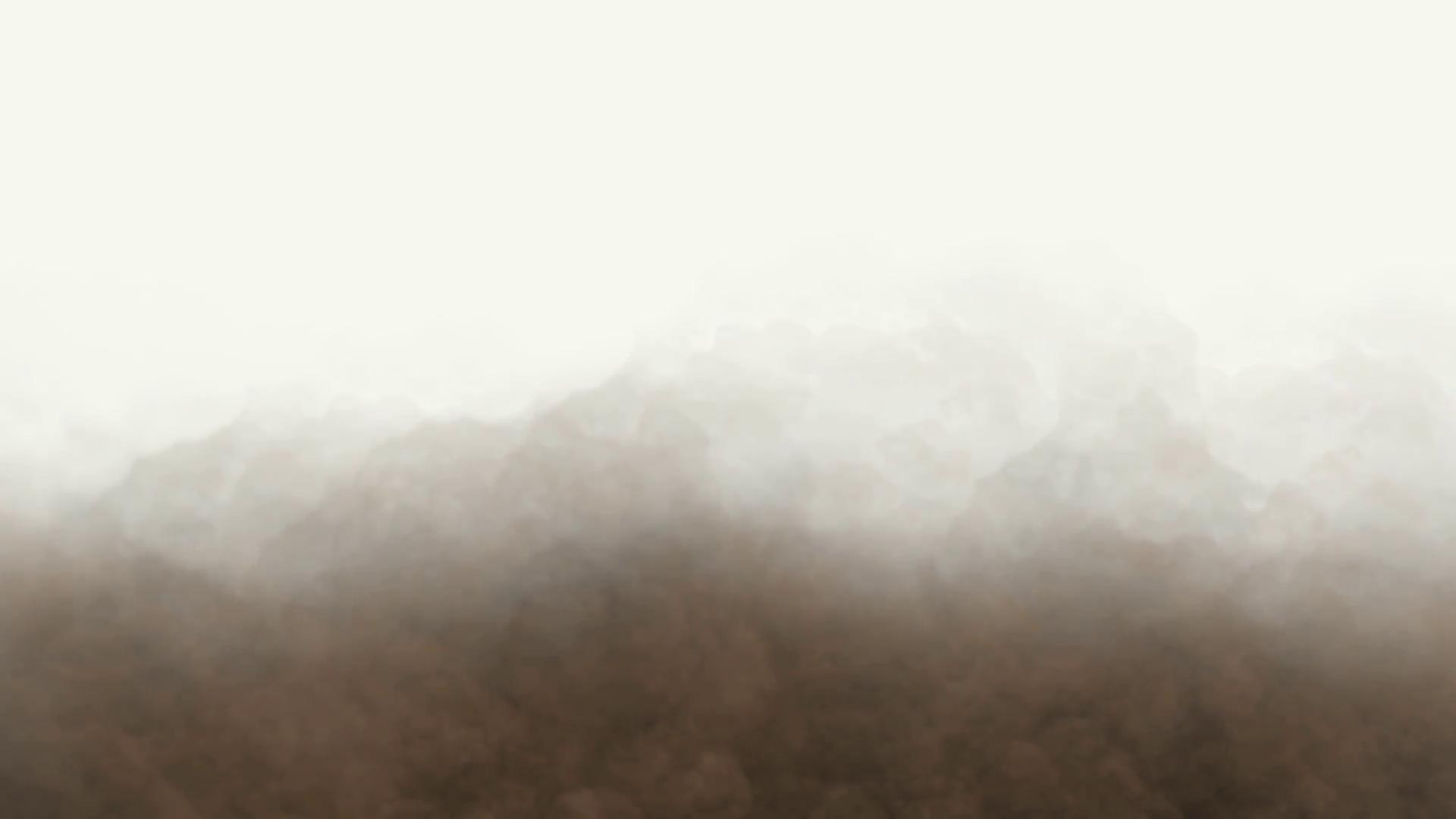 Dust cloud photo