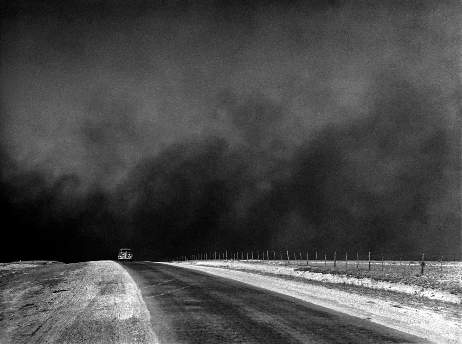 Dust Cloud, Car, Cloud, Dark, Dust, HQ Photo