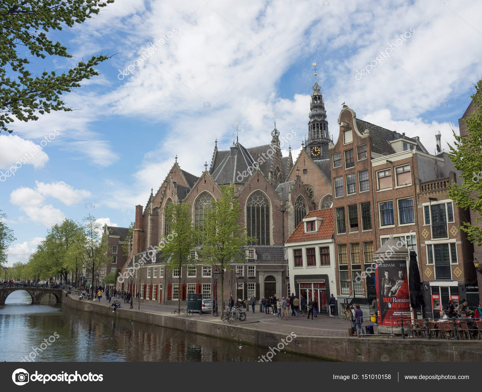 the dutch City amsterdam — Stock Photo © sippel #151010158